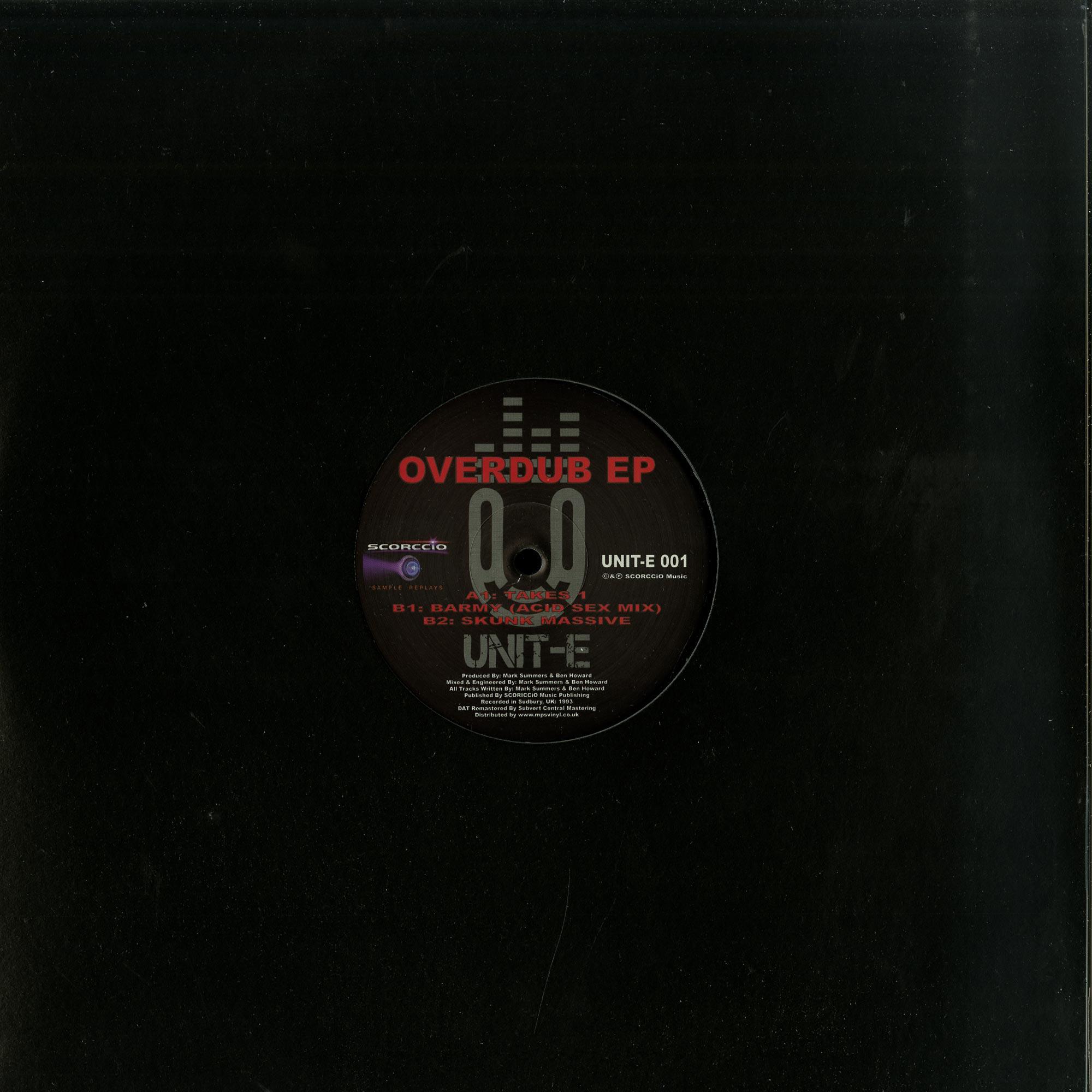Unit E - OVERDUB EP