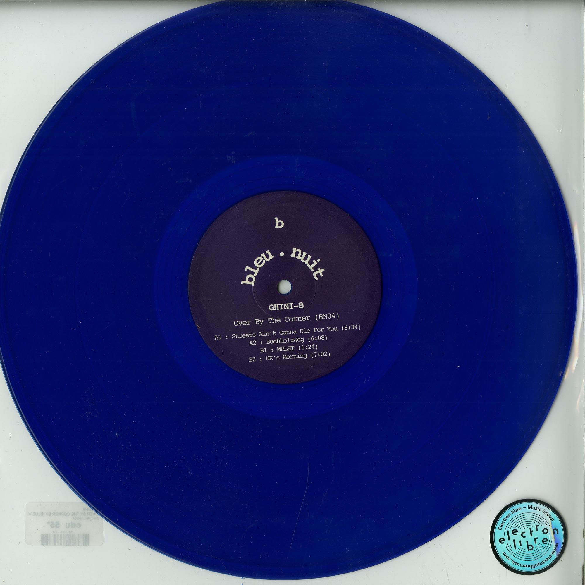 Ghini-B - OVER BY THE CORNER EP