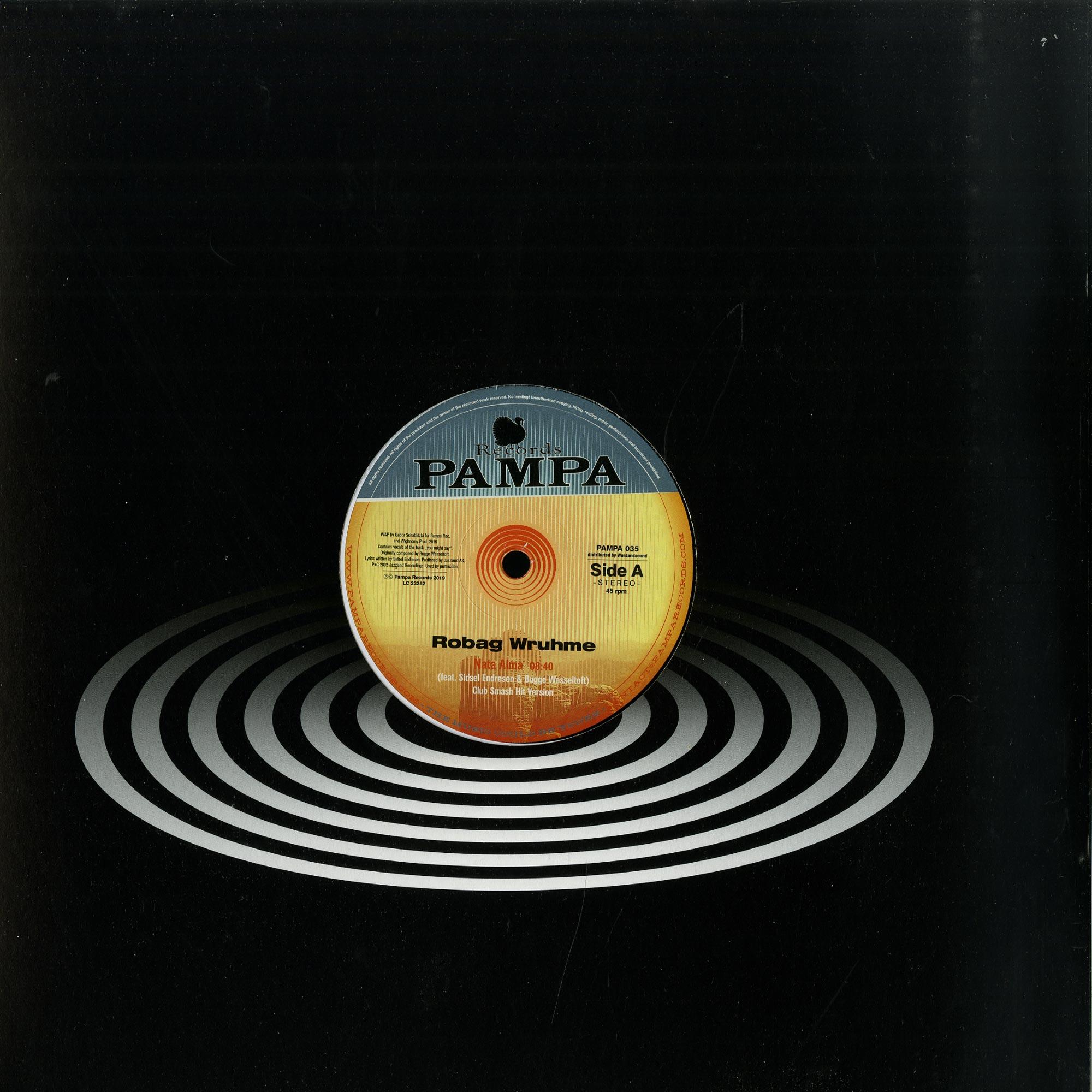 Robag Wruhme - NATA ALMA / VENQ TOLEP EP