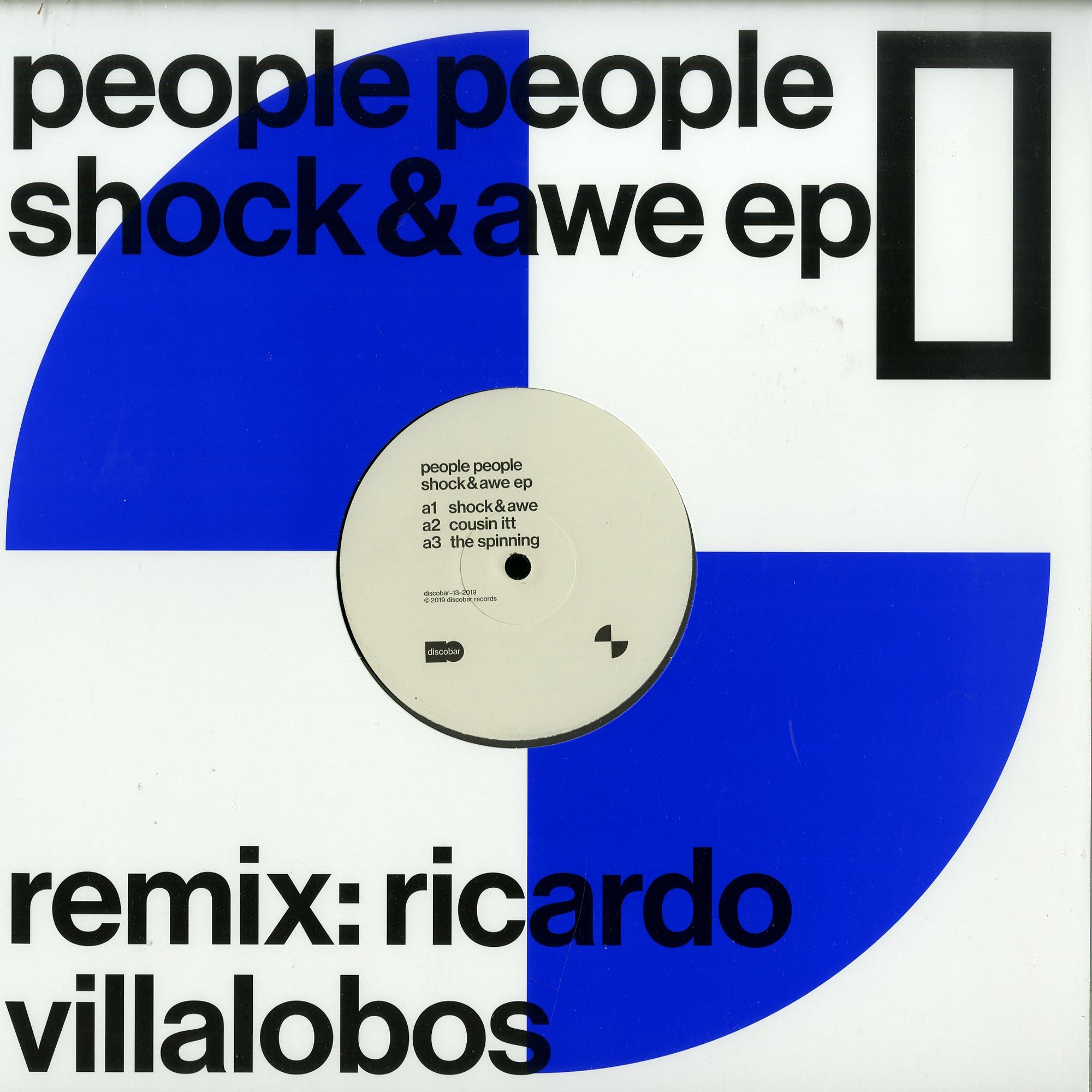People People - SHOCK & AWE EP