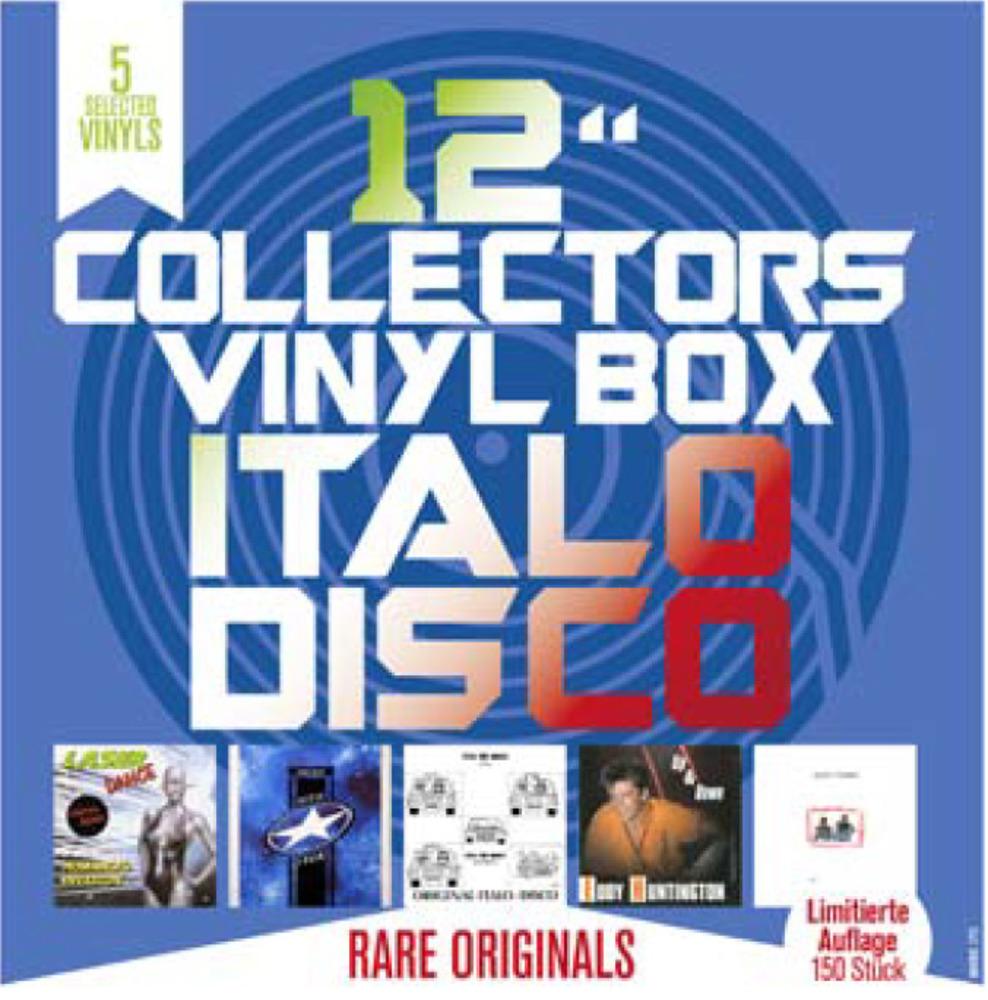Various - COLLECTORS VINYL BOX: ITALO DISCO