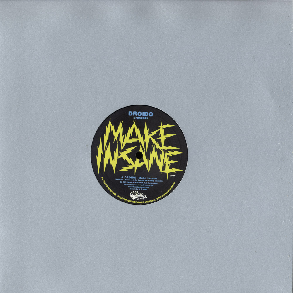 Droido - MAKE INSANE / MILTON JACKSON RMX