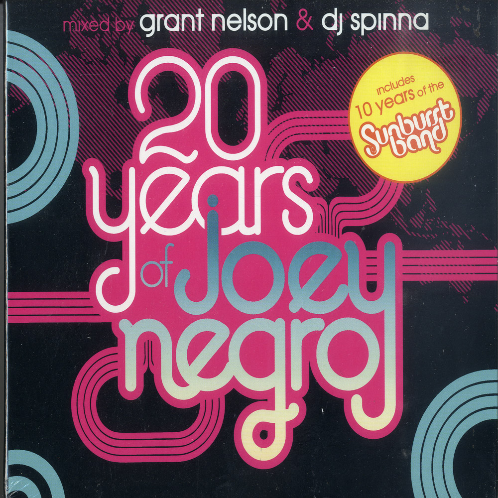 Various mixed by Grant Nelson & DJ Spinna - 20 YEARS OF JOEY NEGRO