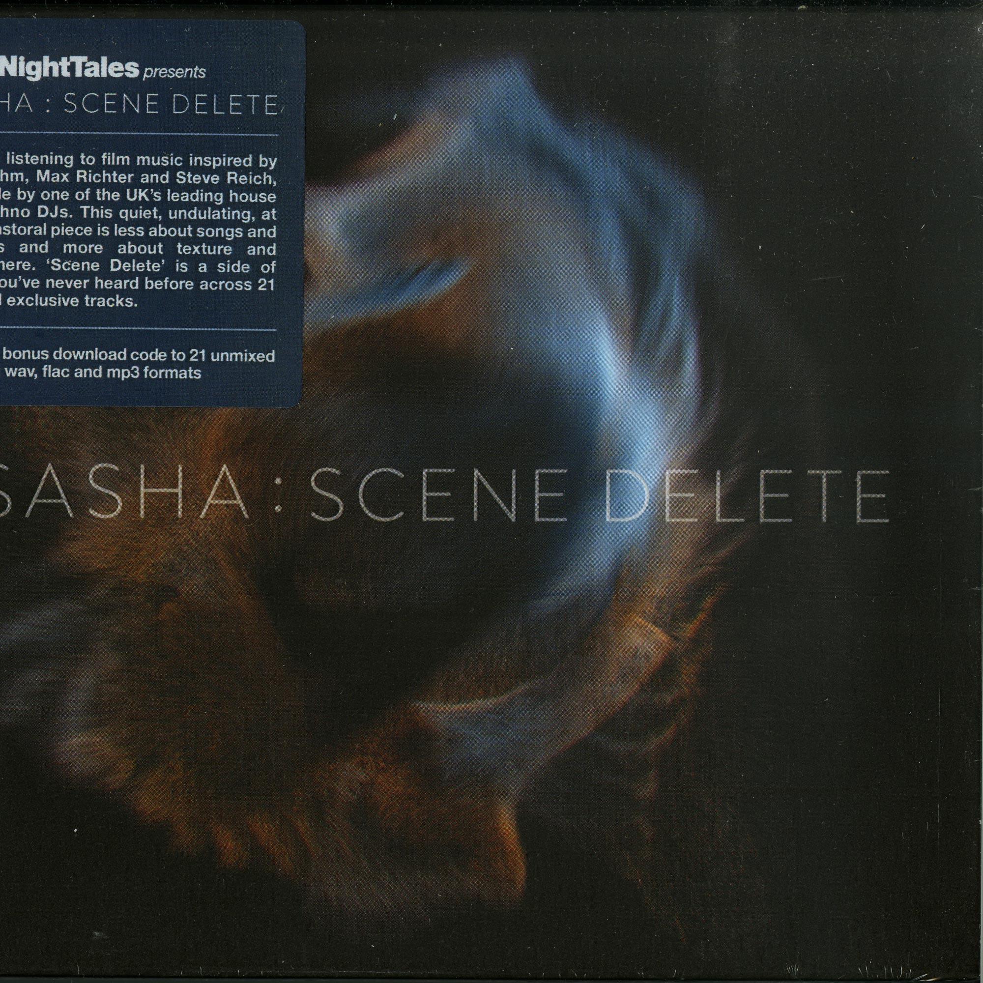 Sasha - LATE NIGHT TALES PRES. SASHA: SCENE DELETE/CD+MP3
