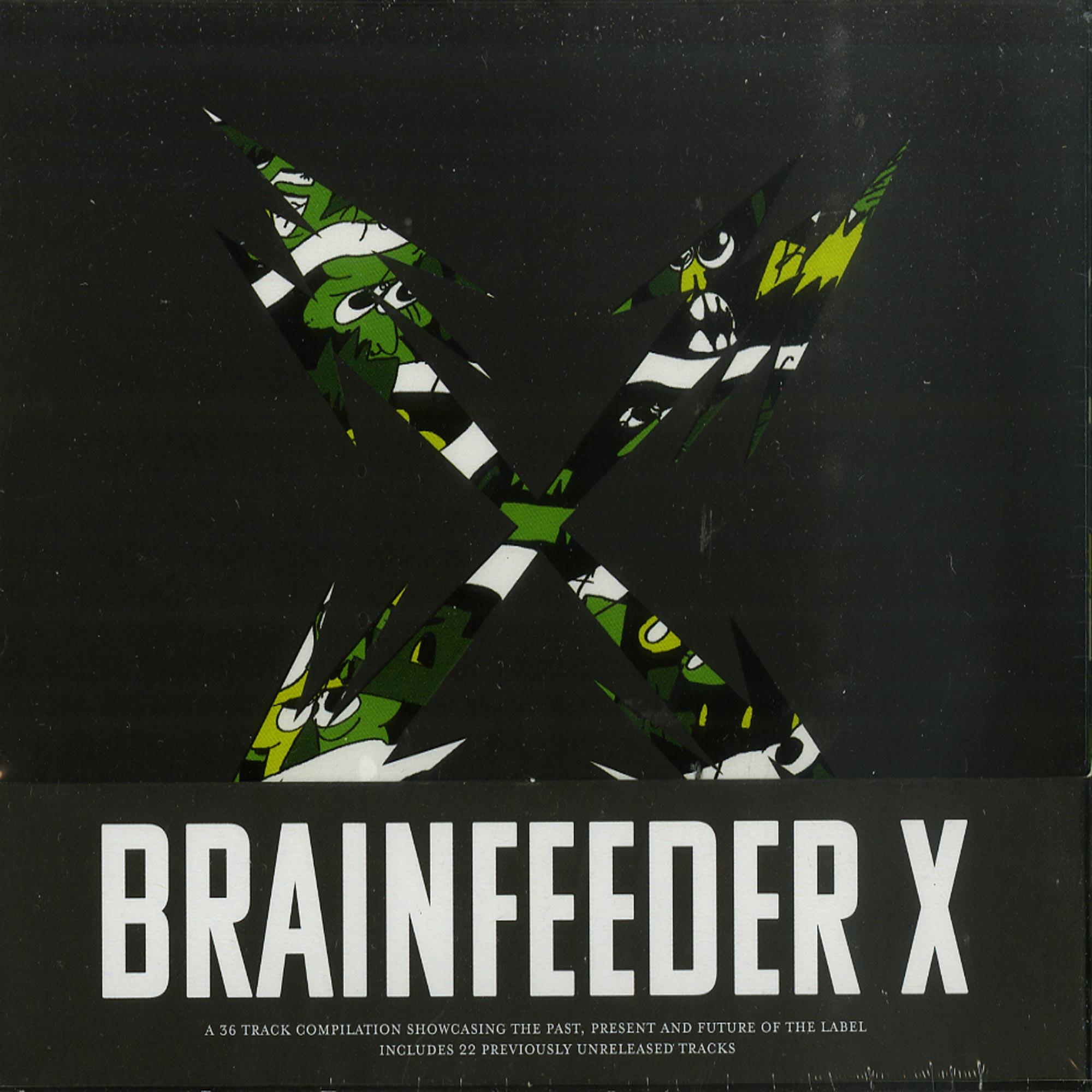 Various Artists - BRAINFEEDER X