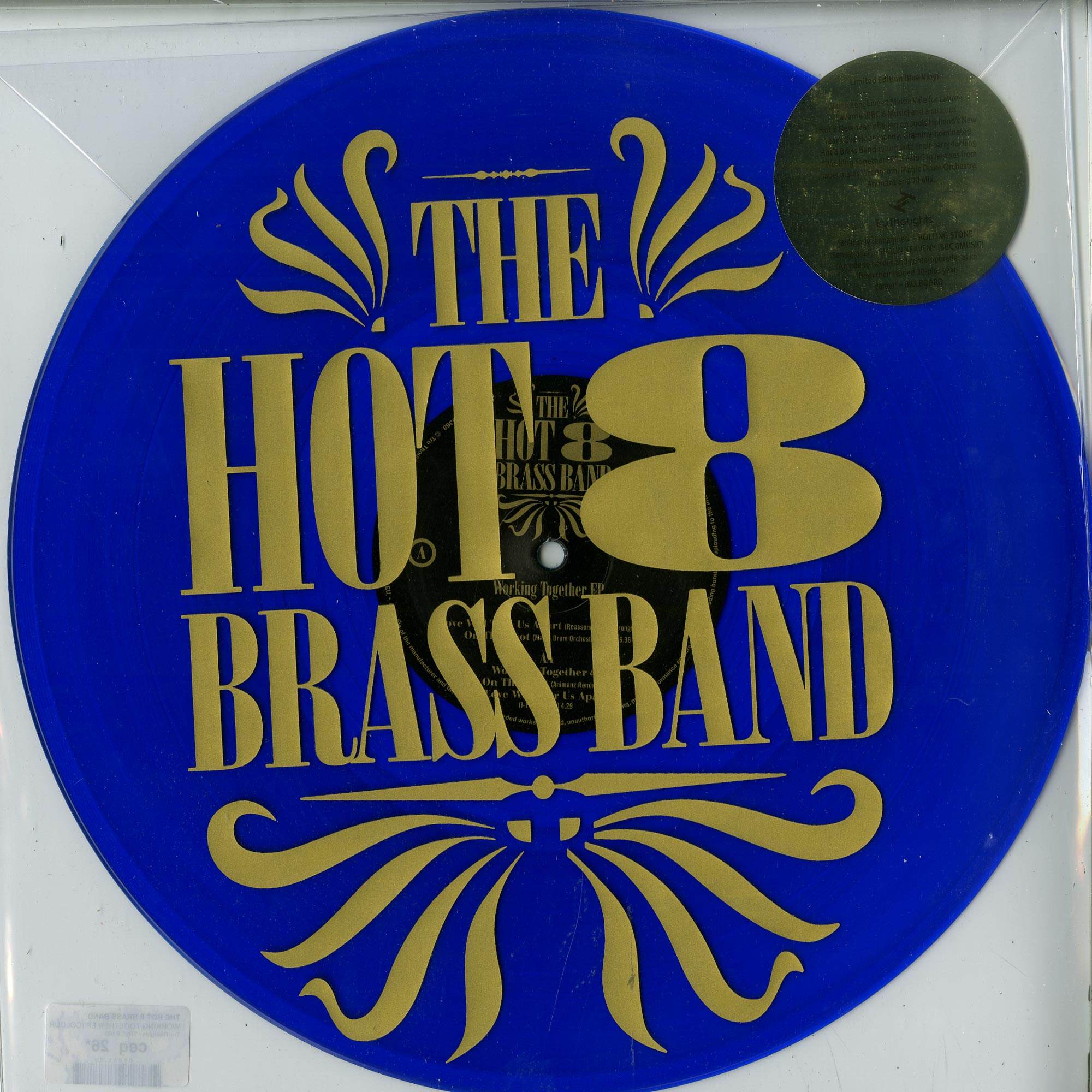 The Hot 8 Brass Band - WORKING TOGETHER EP