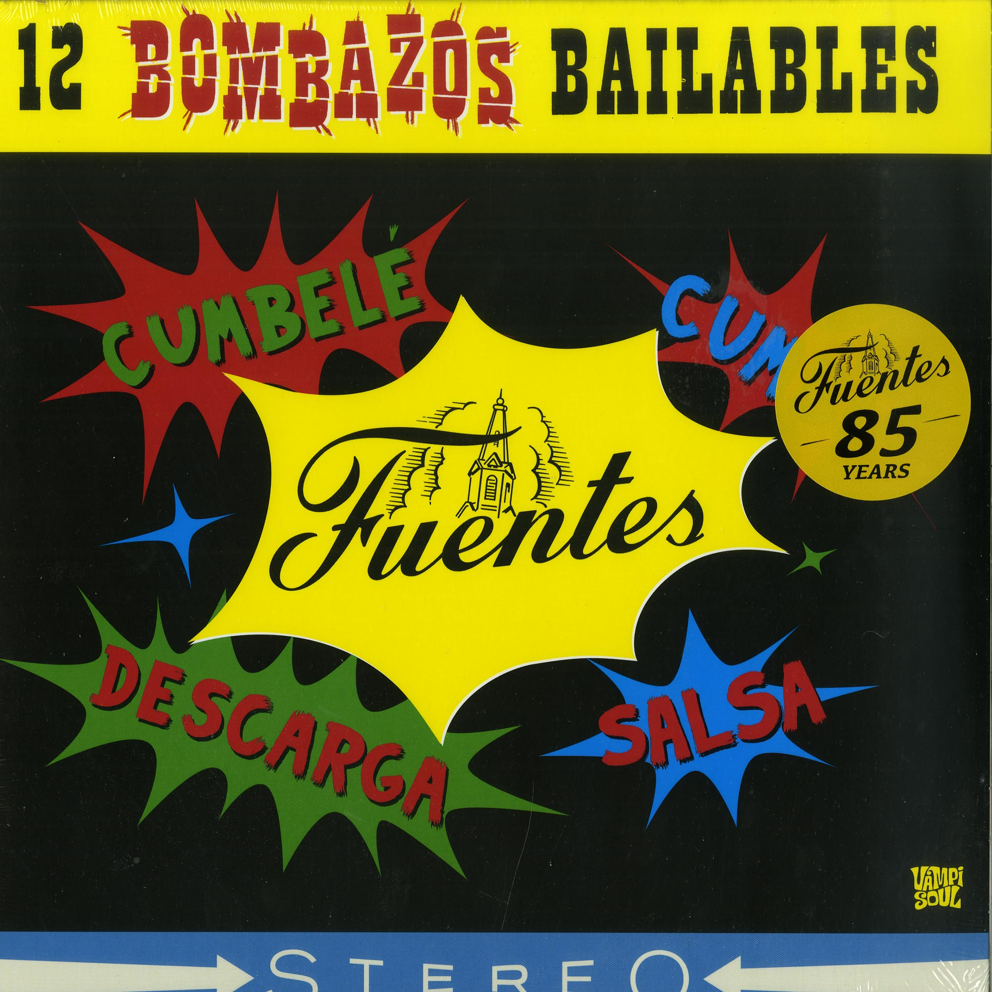 Various Artists - 12 BOMBAZOS BAILABLES