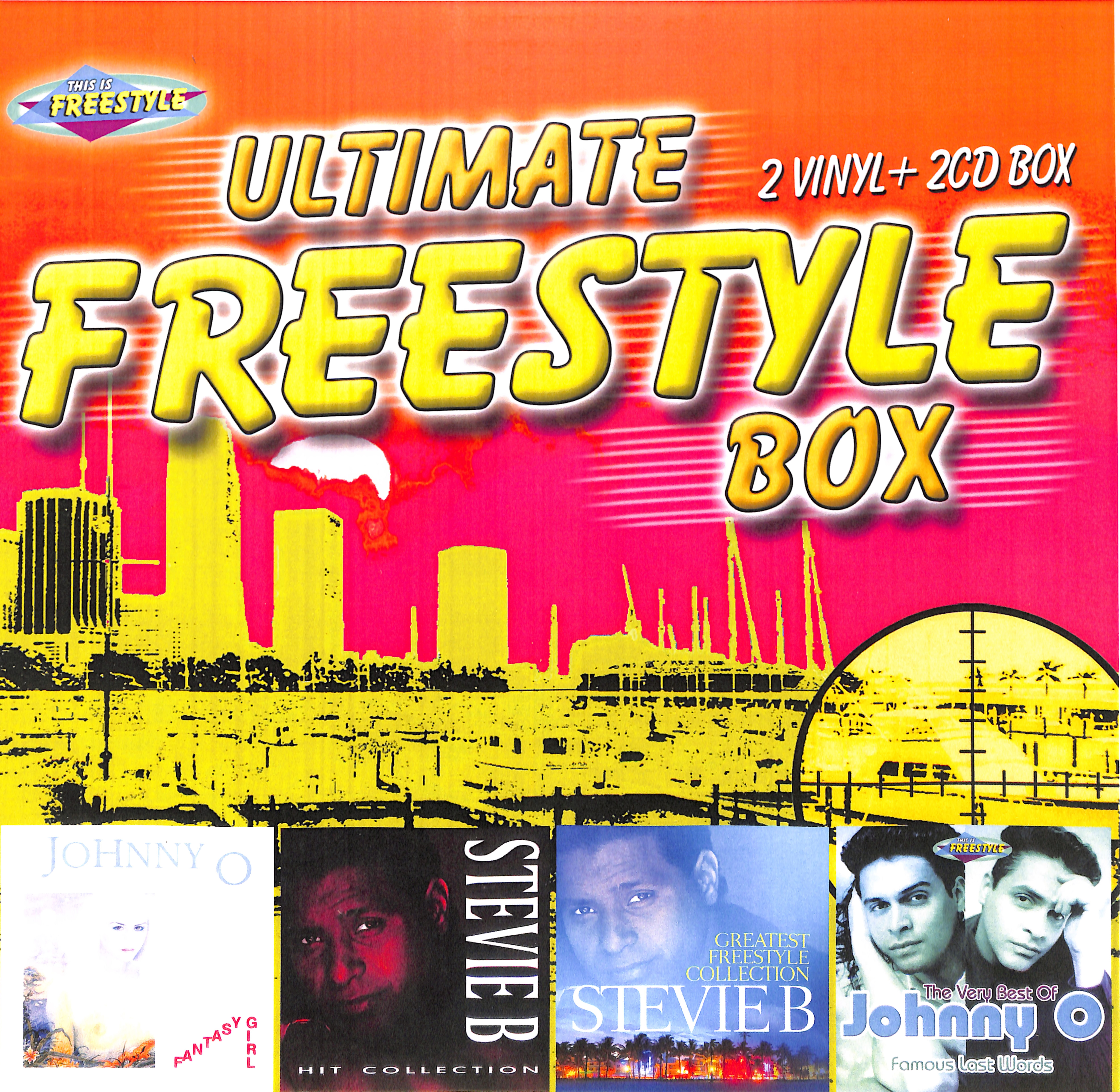 Johnny O / Stevie B - ULTIMATE FREESTYLE BOX