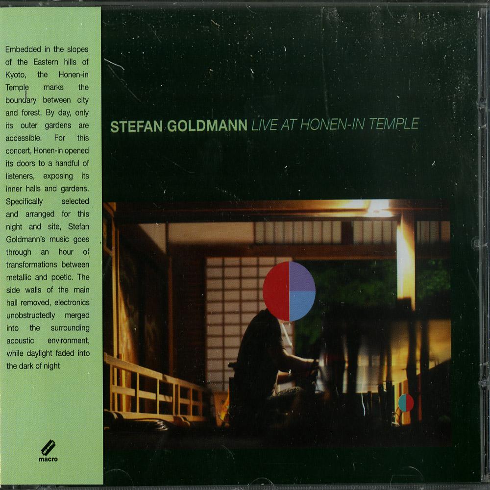 Stefan Goldmann - LIVE AT HONEN - IN TEMPLE