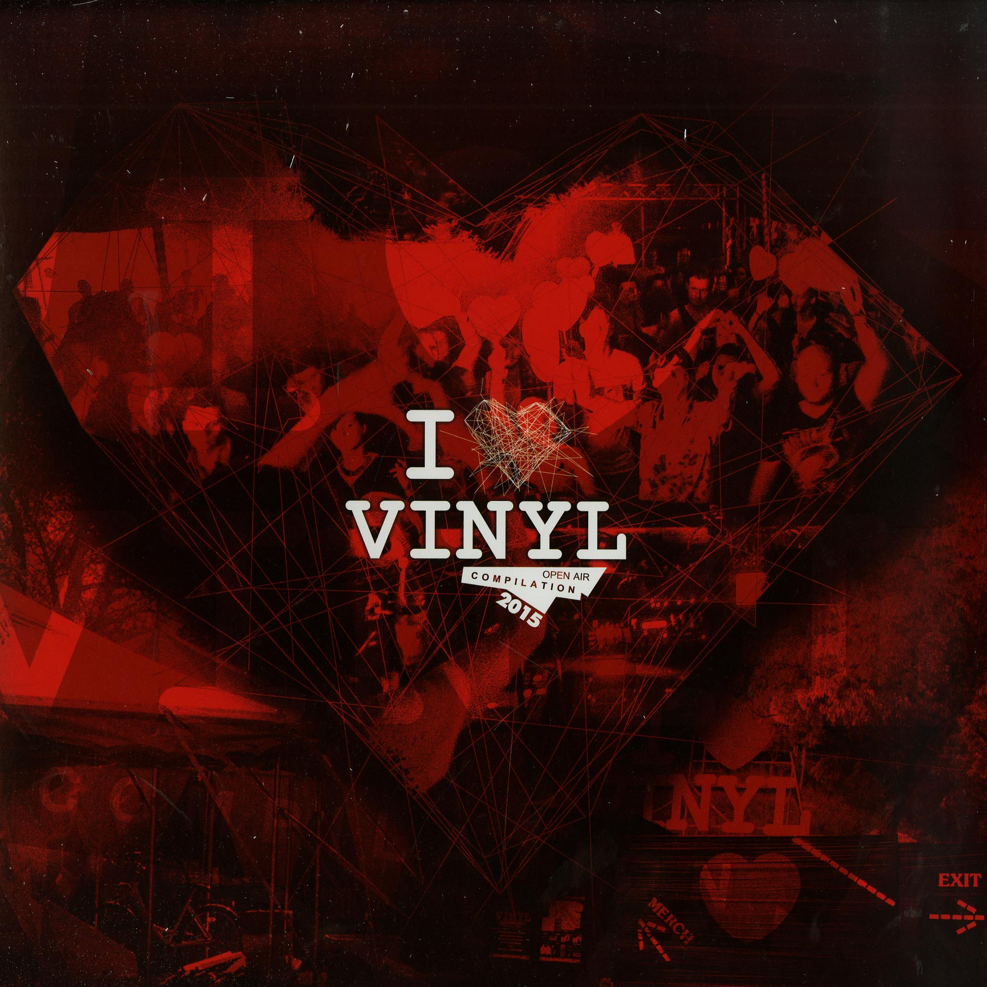 Various Artists - I LOVE VINYL OPEN AIR 2015 COMPILATION