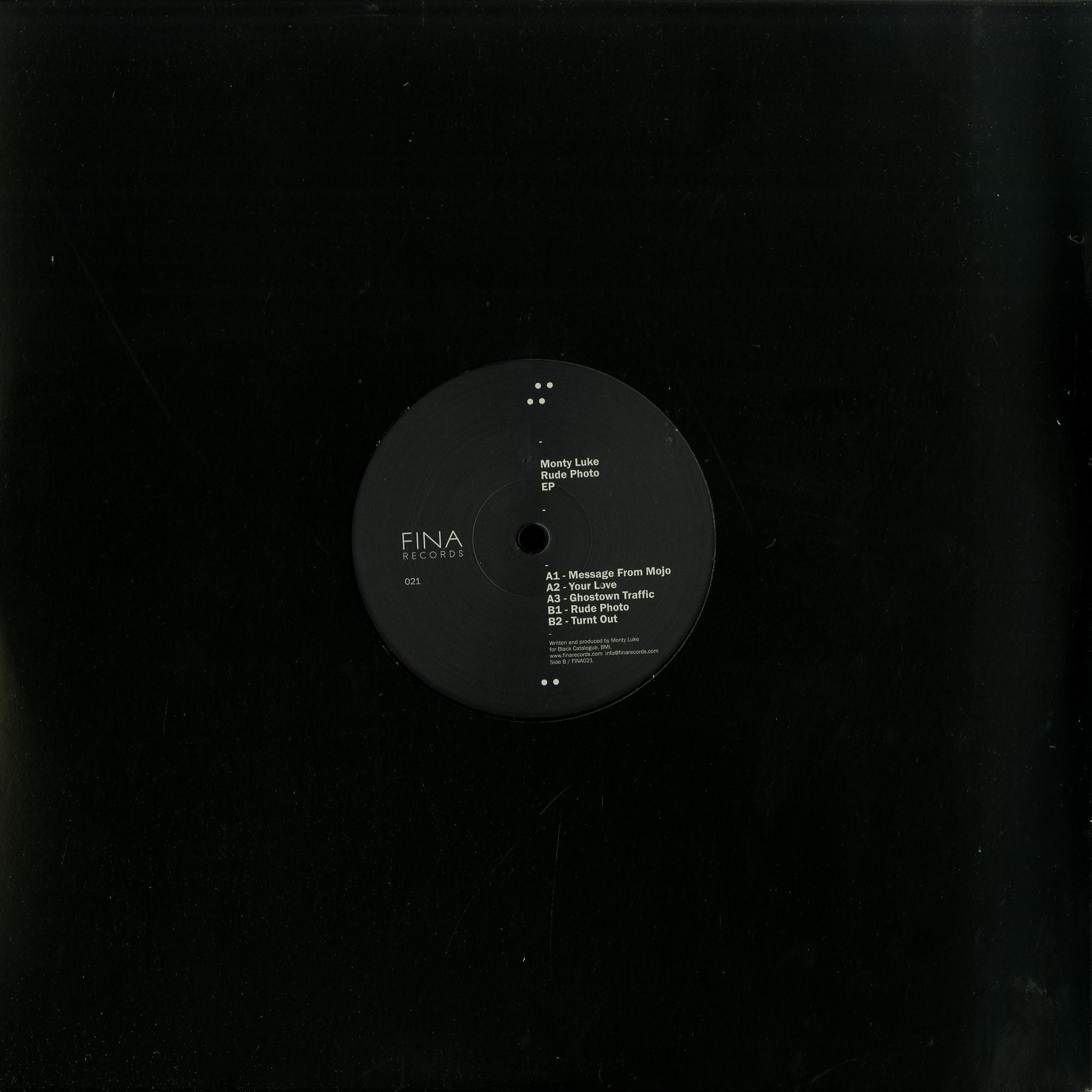 Monty Luke - RUDE PHOTO EP