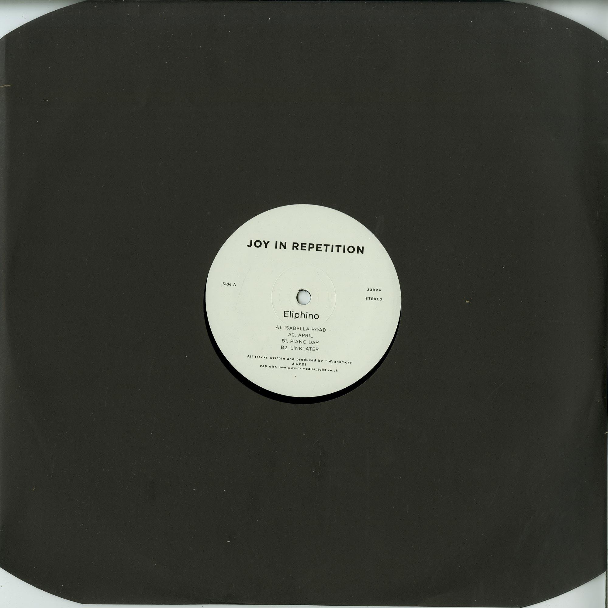Eliphino - JOY IN REPETITION EP 1