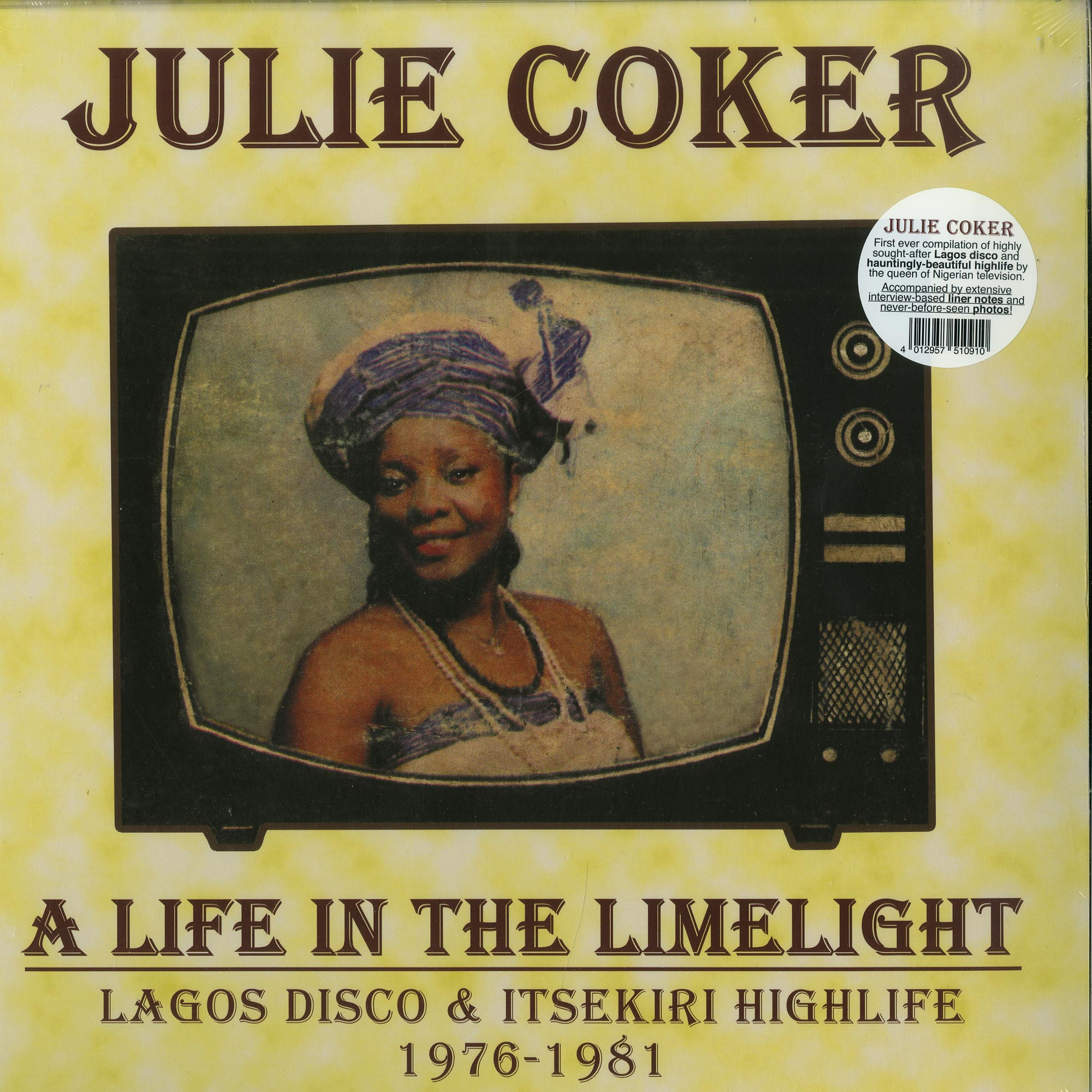 Julie Coker - A LIFE IN THE LIMELIGHT