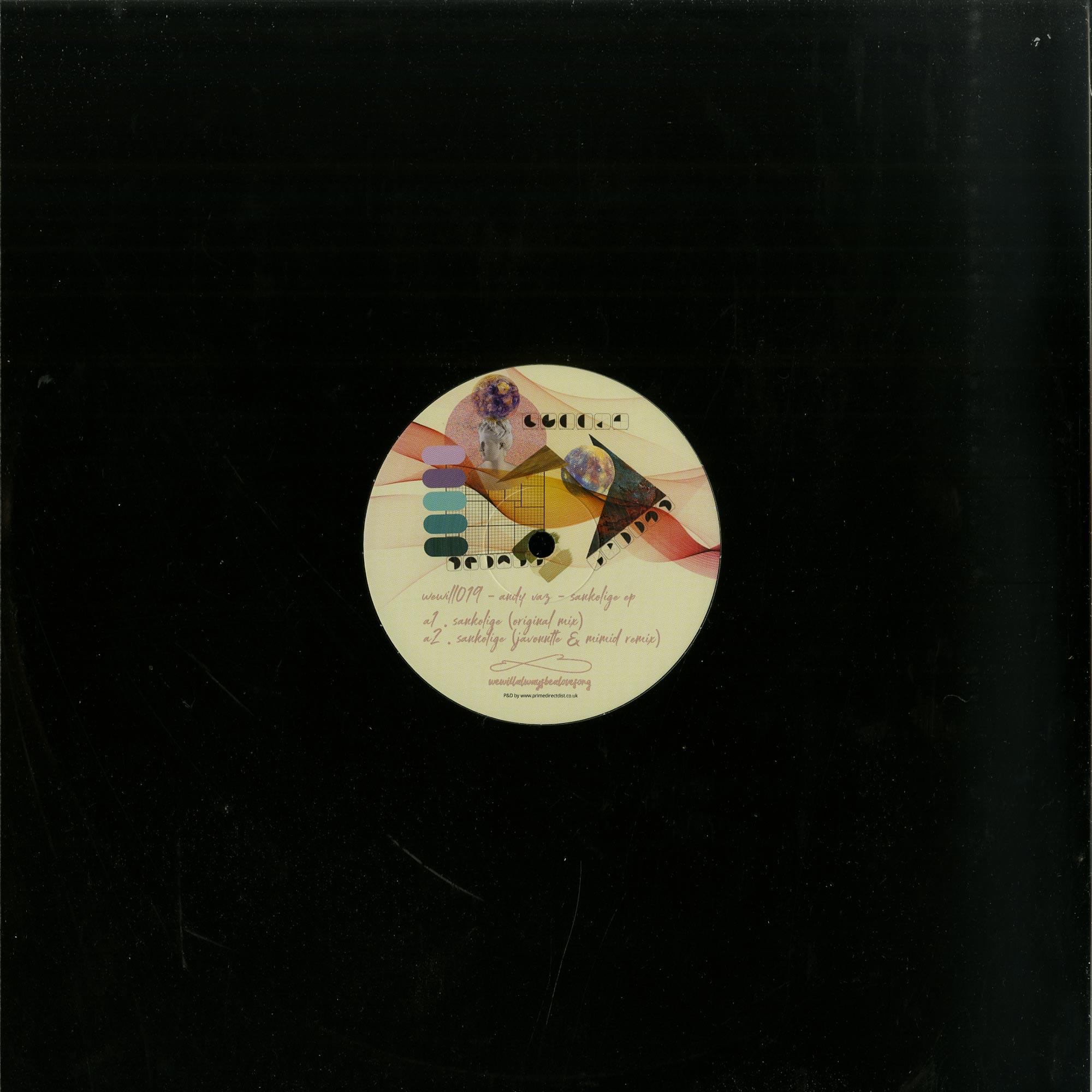 Andy Vaz - SANKOLIGE EP