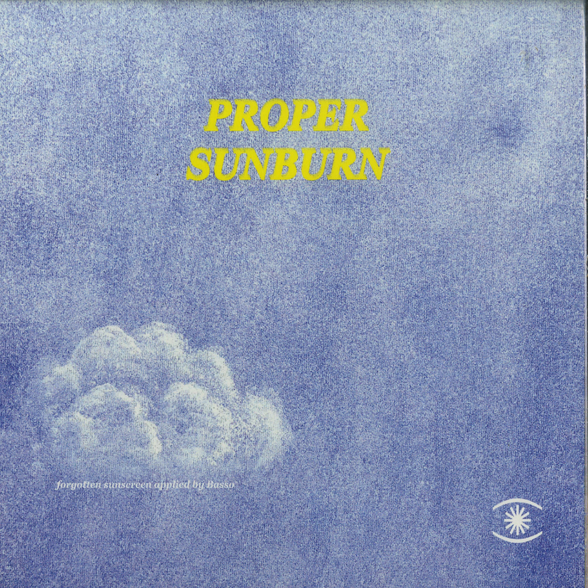 Various Artists - PROPER SUNBURN - FORGOTTEN SUNSCREEN