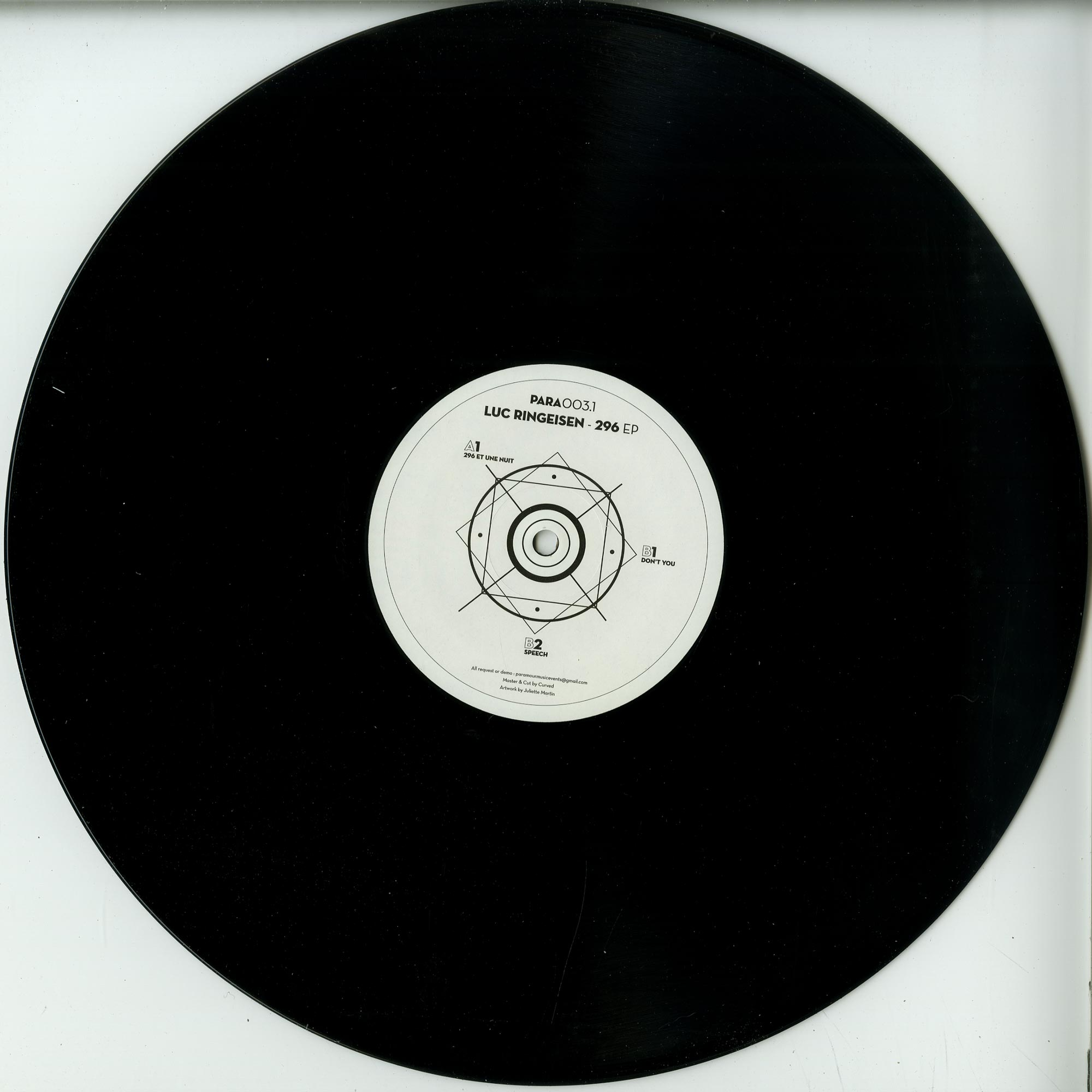 Luc Ringeisen - 296 EP