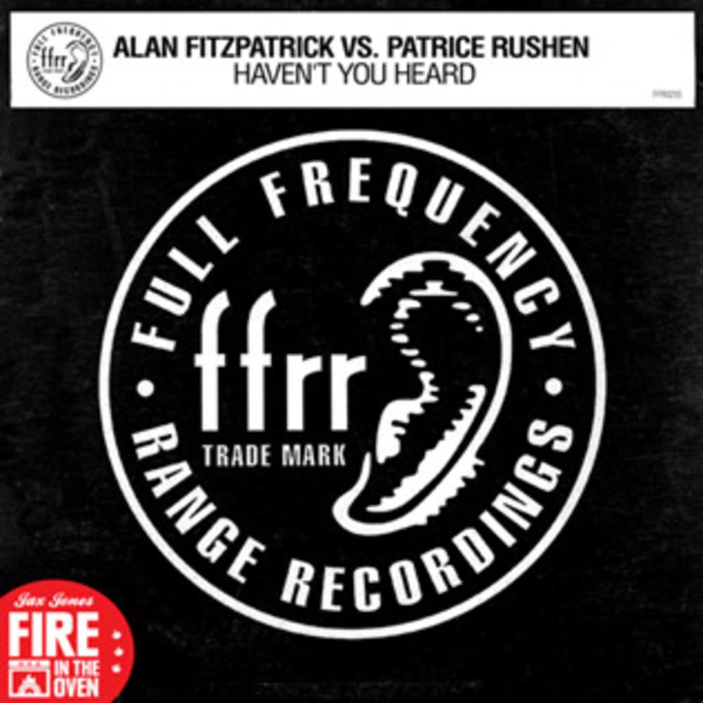 Alan Fitzpatrick vs. Patrice Rushen - HAVENT YOU HEARD