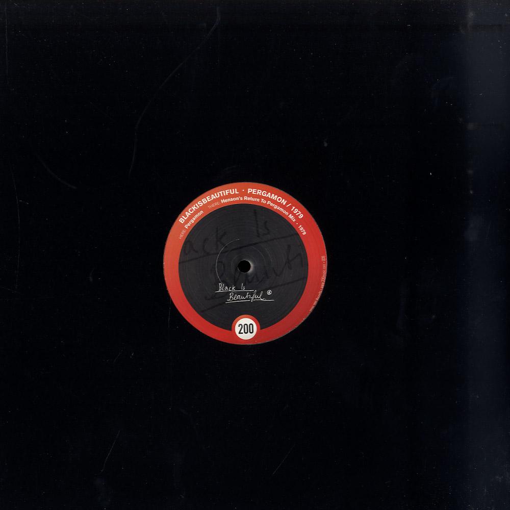 BlackIsBeautiful - Pergamon / 1979