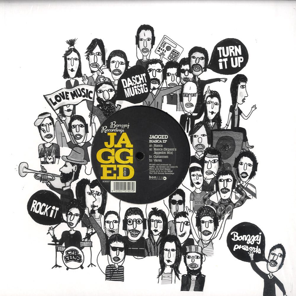 Jagged - BIASCA EP / KNARF SKIPSON RMX