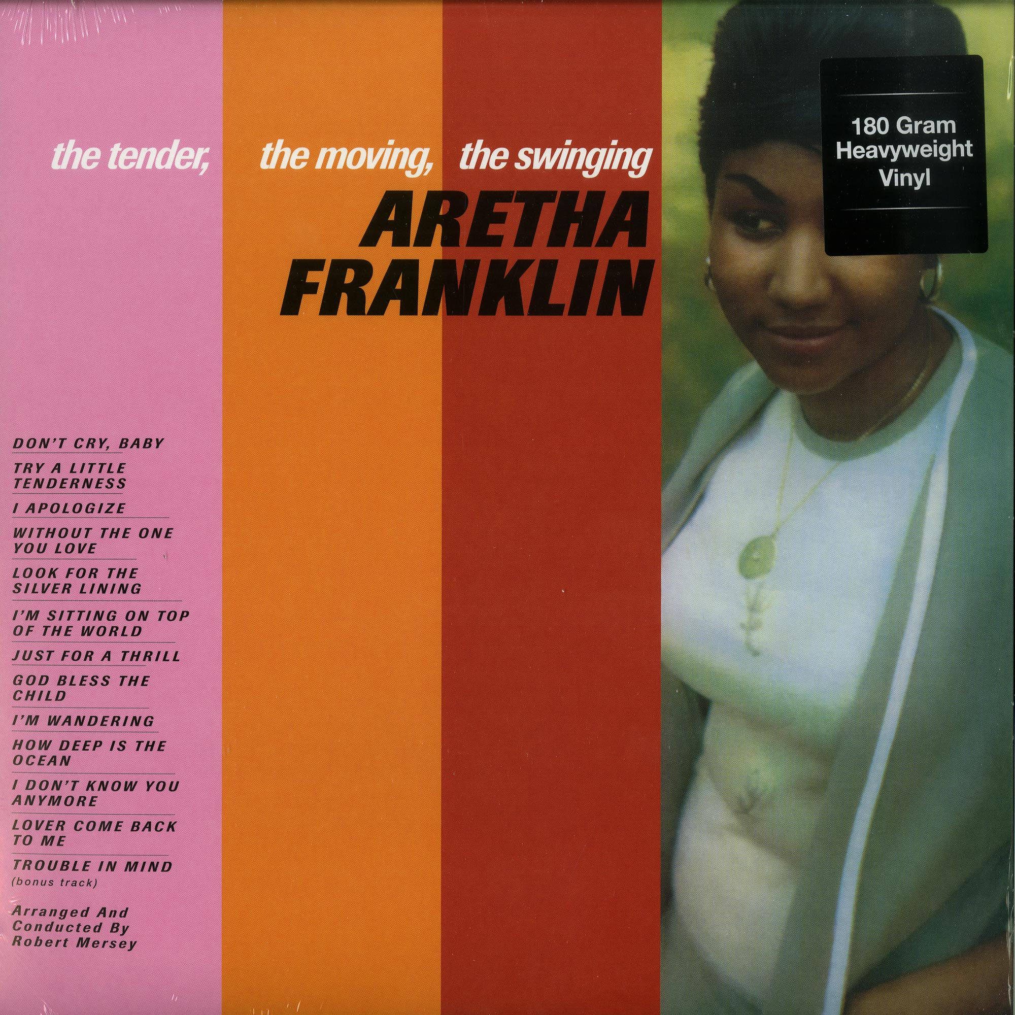 Aretha Franklin - THE TENDER, THE MOVING, THE SWINGING