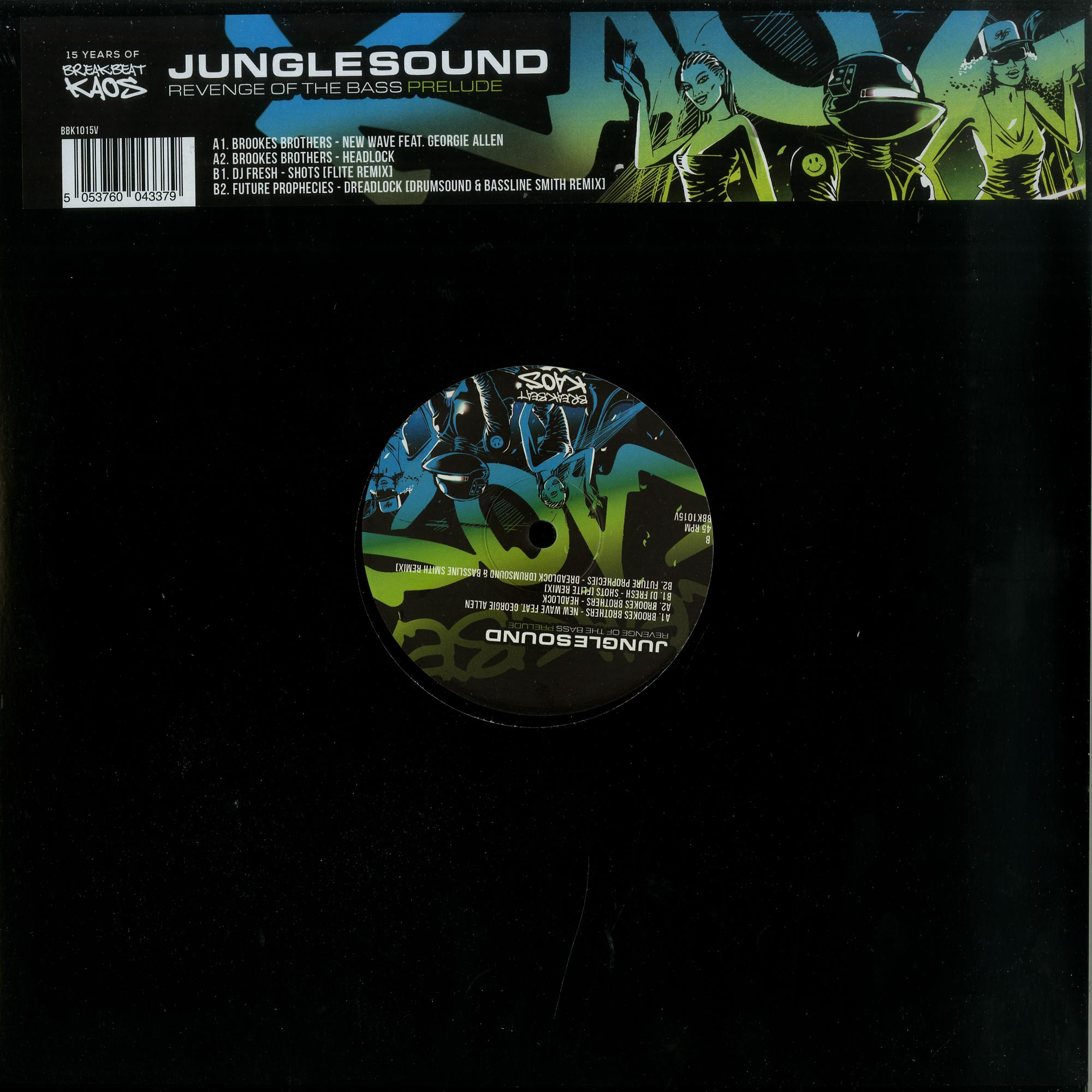 Various Artists - JUNGLESOUND: THE REVENGE OF THE BASS