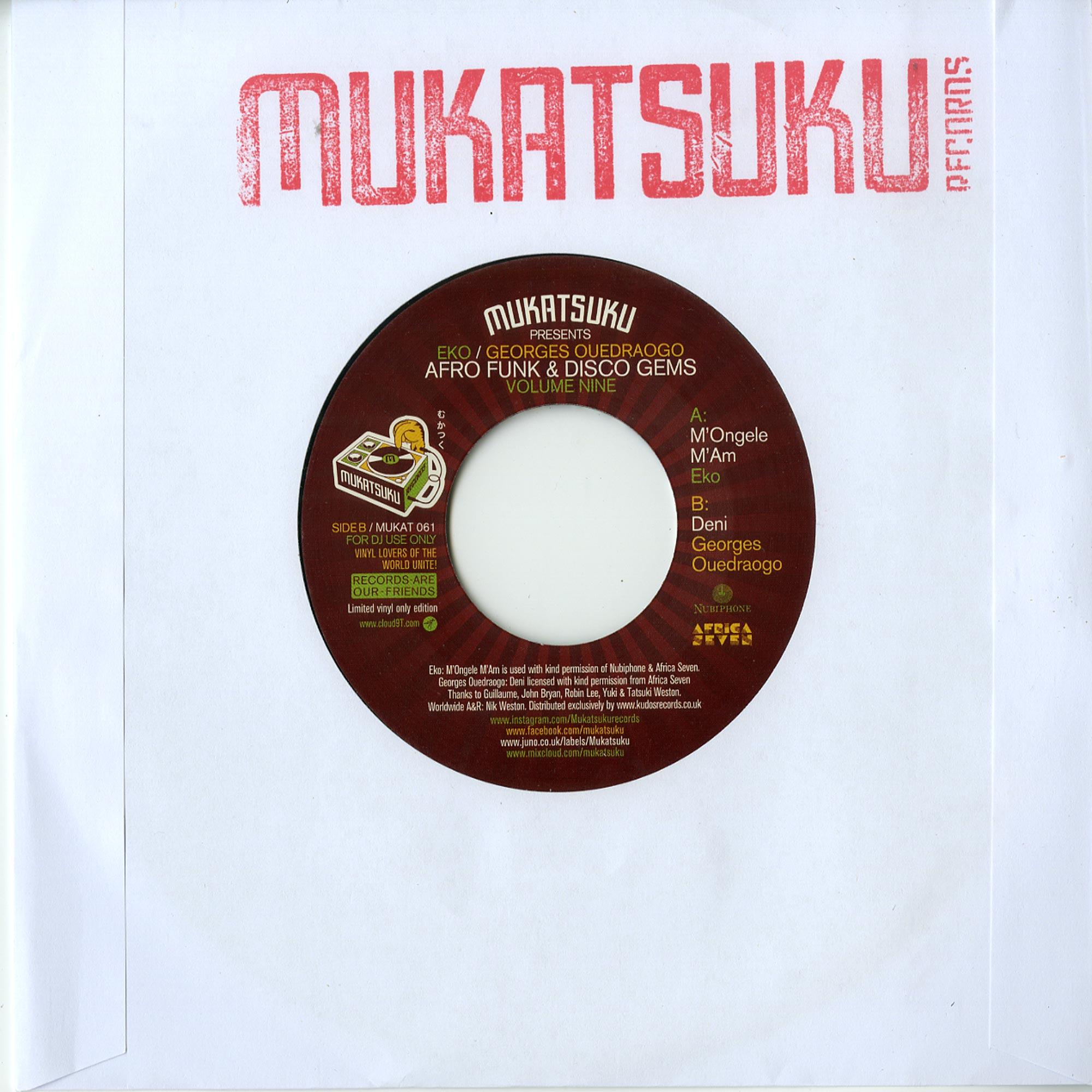 Various Artists - AFRO FUNK & DISCO GEMS VOLUME 9