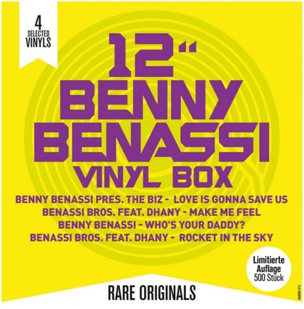 Benny Benassi - BENNY BENASSI VINYL BOX