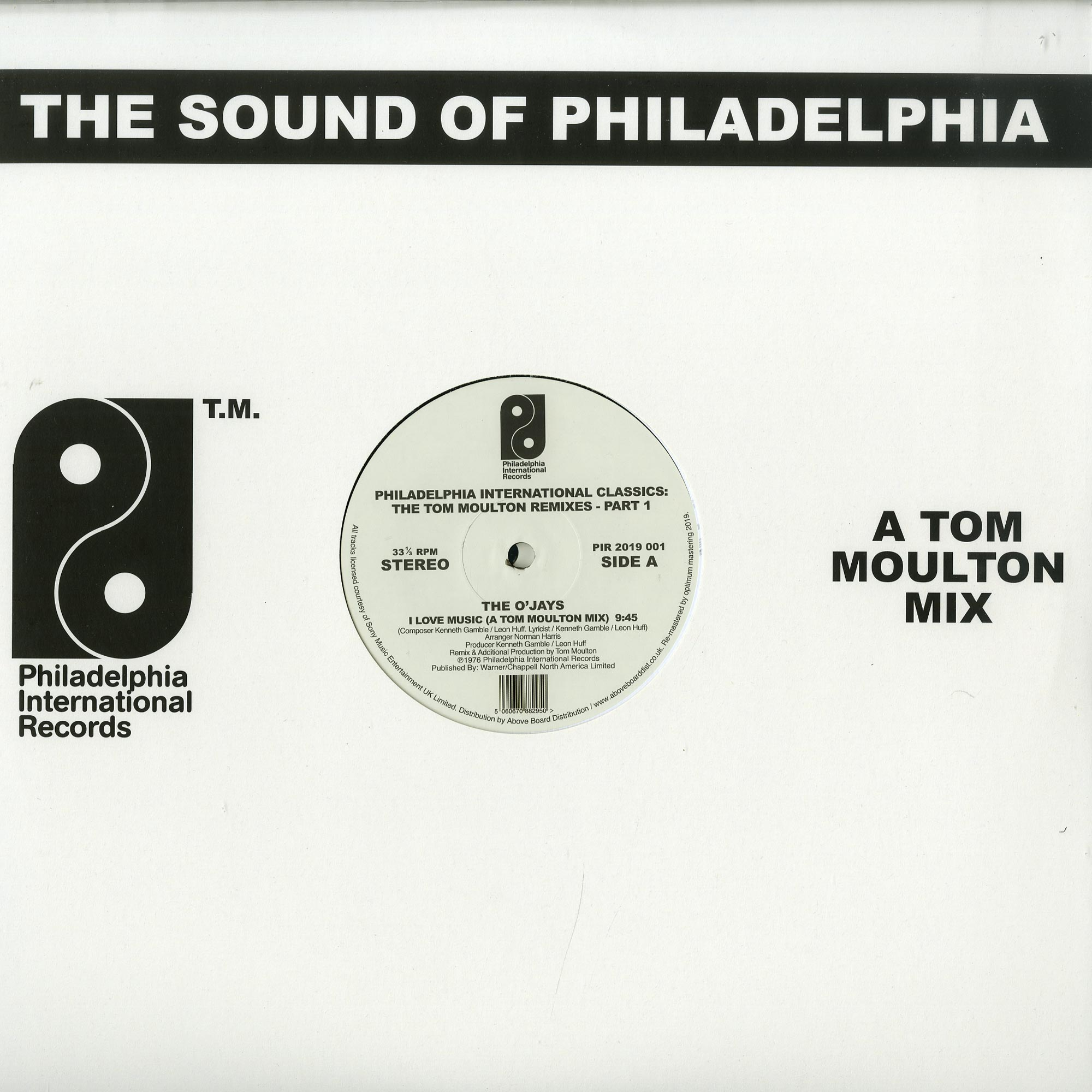 Various Artists - PILADELPHIA INTERNATIONAL CLASSICS - THE TOM MOULTON REMIXES - PART 1