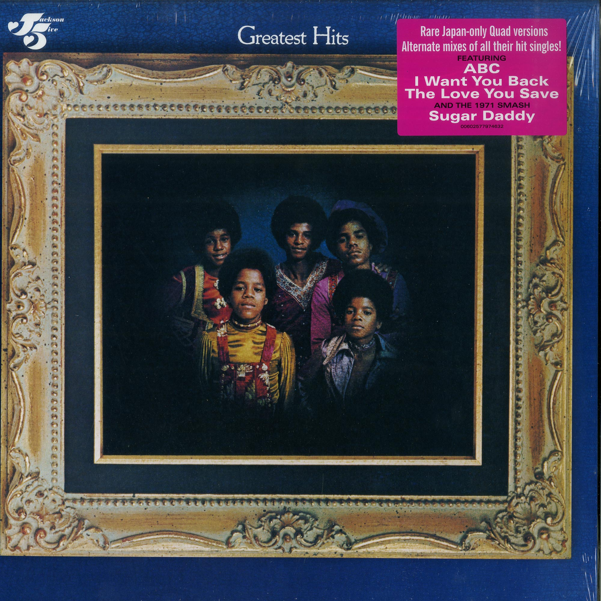Jackson 5 - GREATEST HITS - QUADRAPHONIC MIX