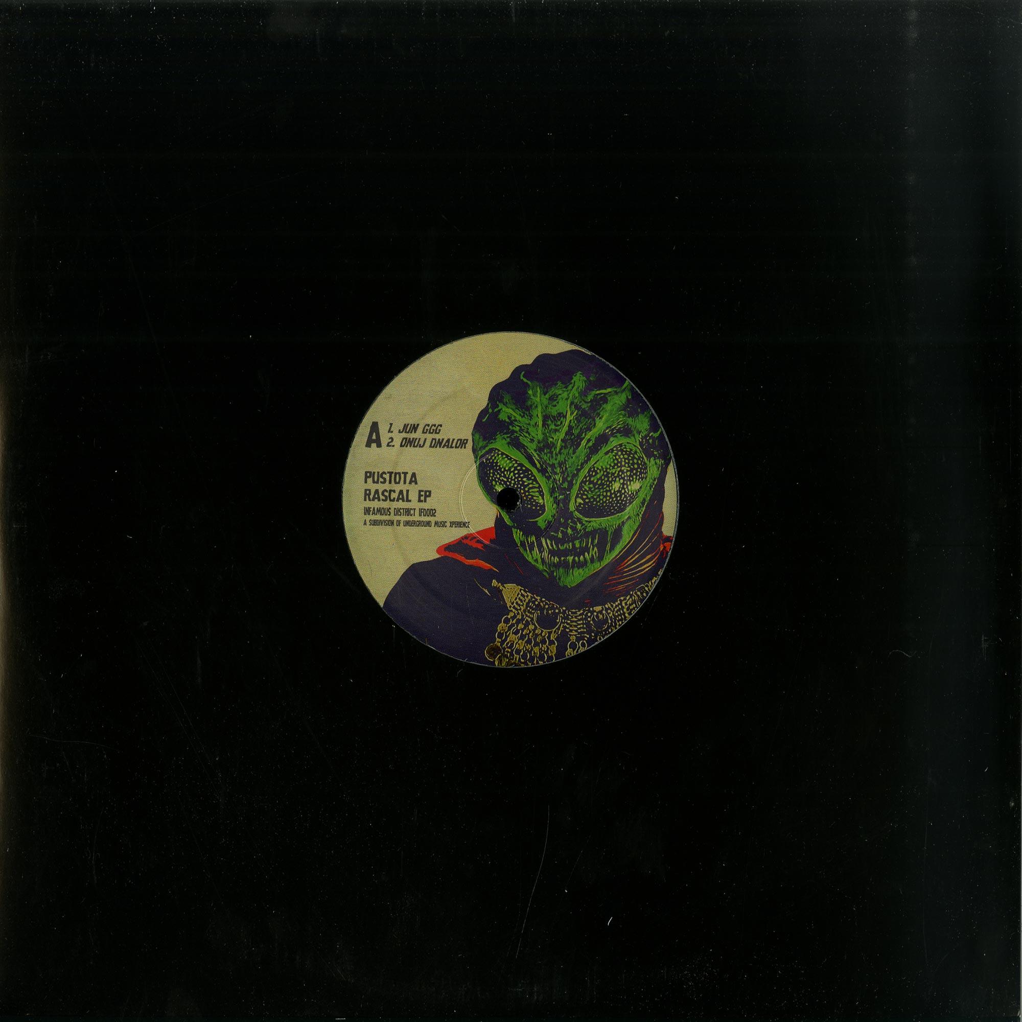 Pustota - RASCAL EP