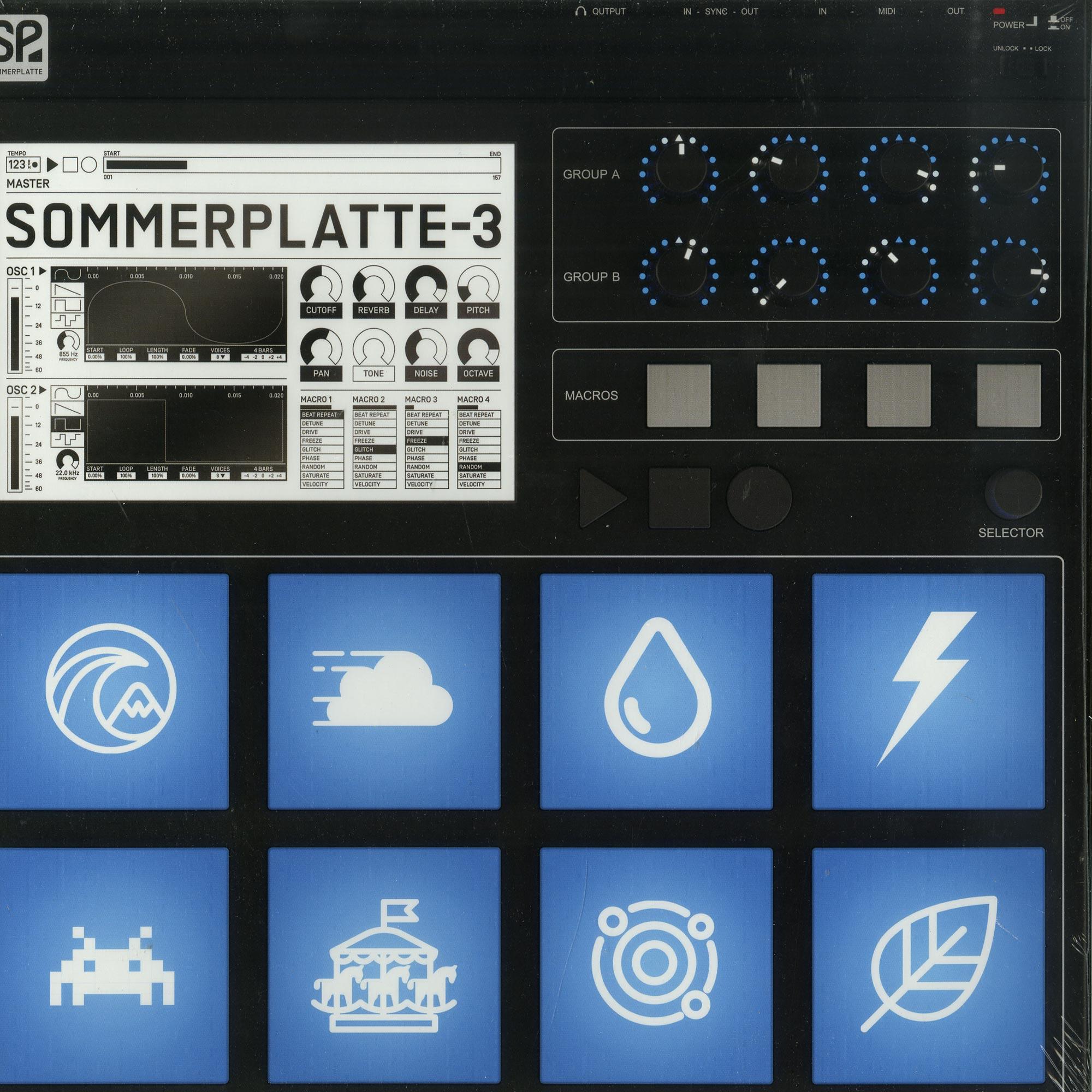 Sommerplatte - 3