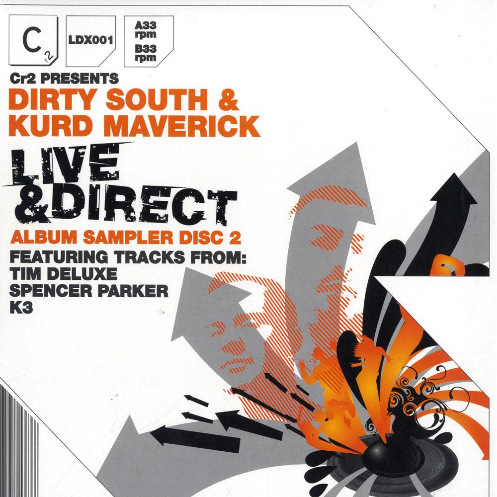 Dirty South & Kurd Maverick - LIVE & DIRECT SAMPLER VOL.2