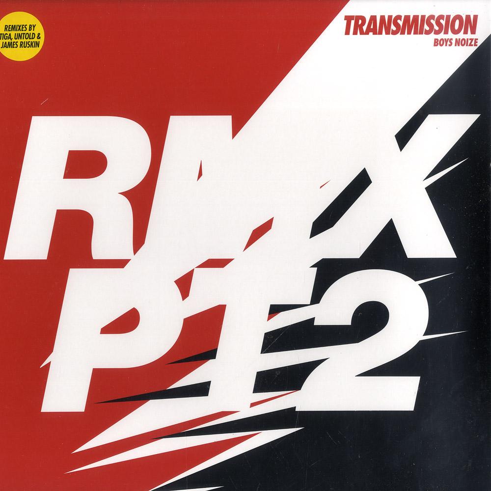 Boys Noize - TRANSMISSION REMIXES PT.2 TIGA / JAMES RUSKIN REMIX