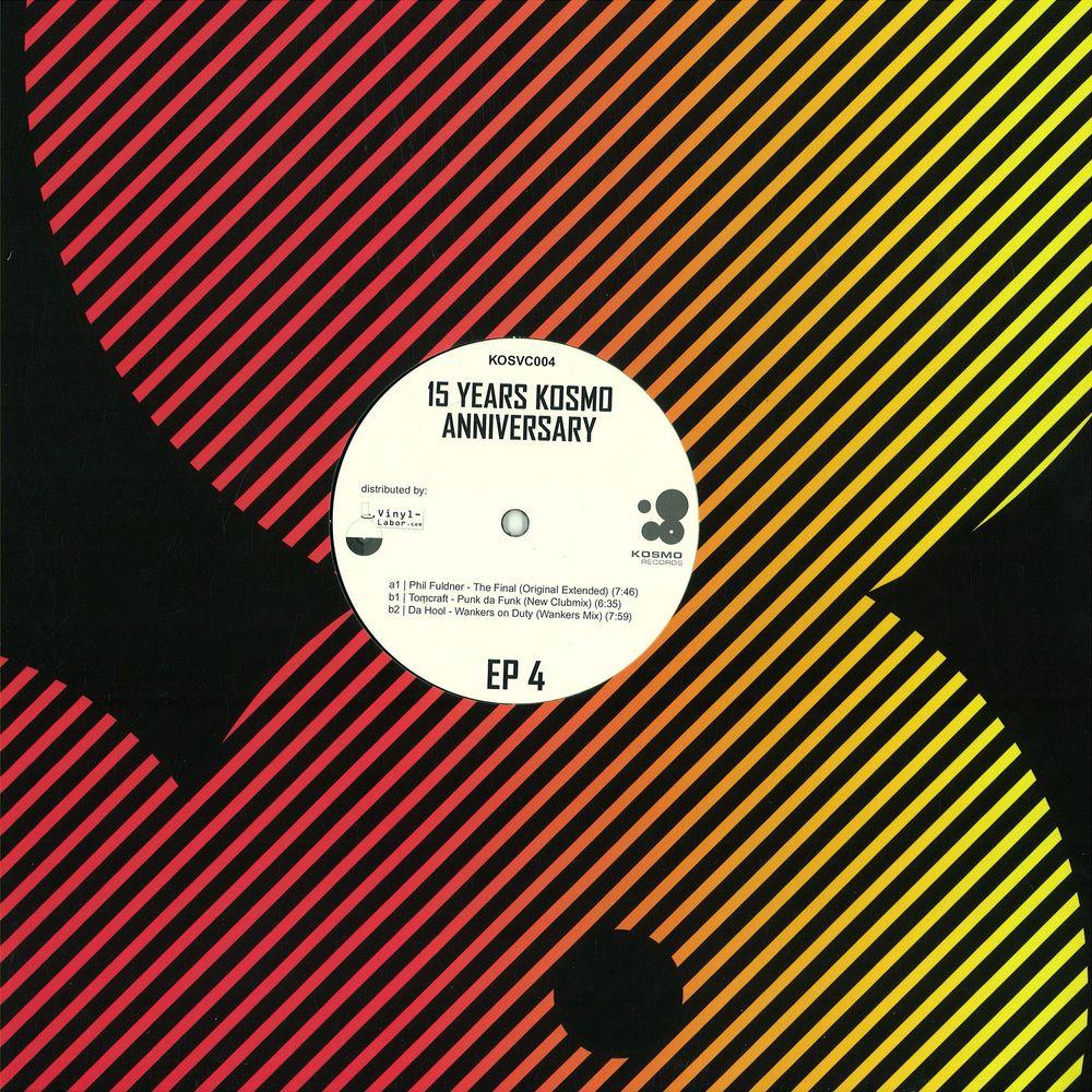 Phil Fuldner / Tomcraft / Da Hool - PART 4 - 15 YEARS ANNIVERSARY EP
