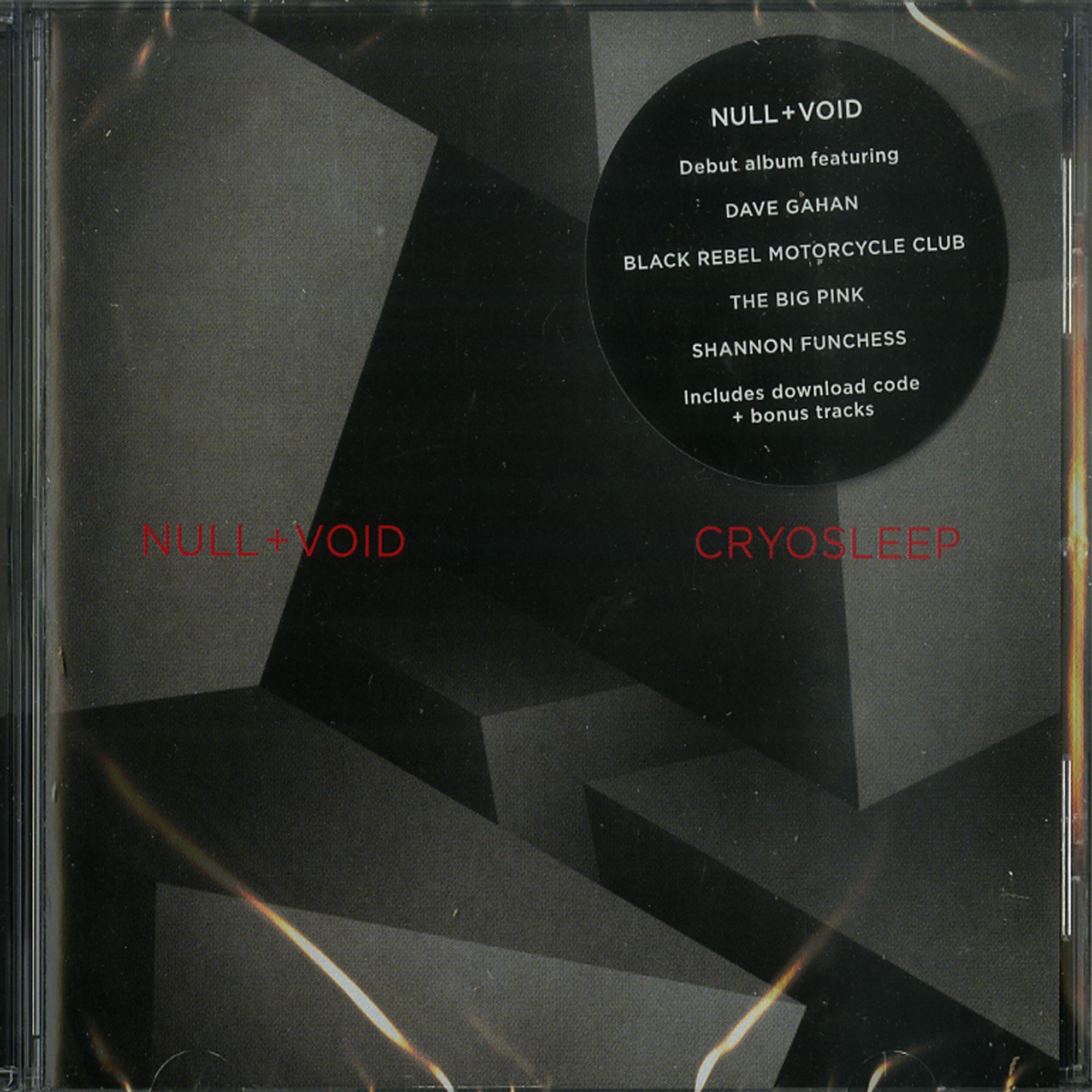 Null + Void - CRYOSLEEP