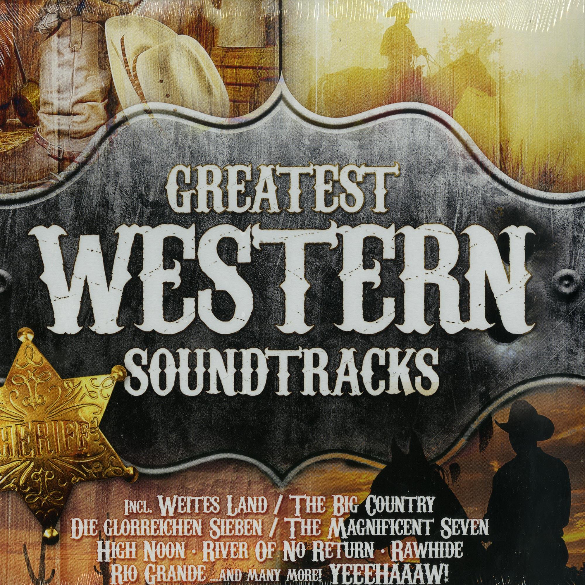 Various - GREATEST HOLLYWOOD WESTERN SOUNDTRACKS
