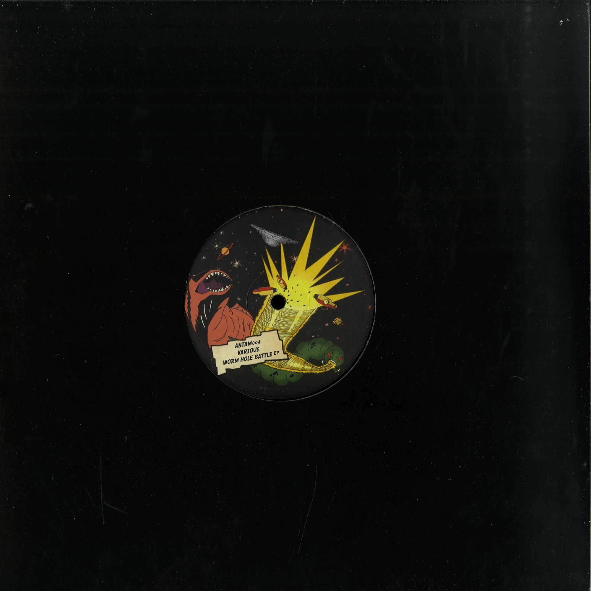 Various Artists - WORM HOLE BATTLE EP