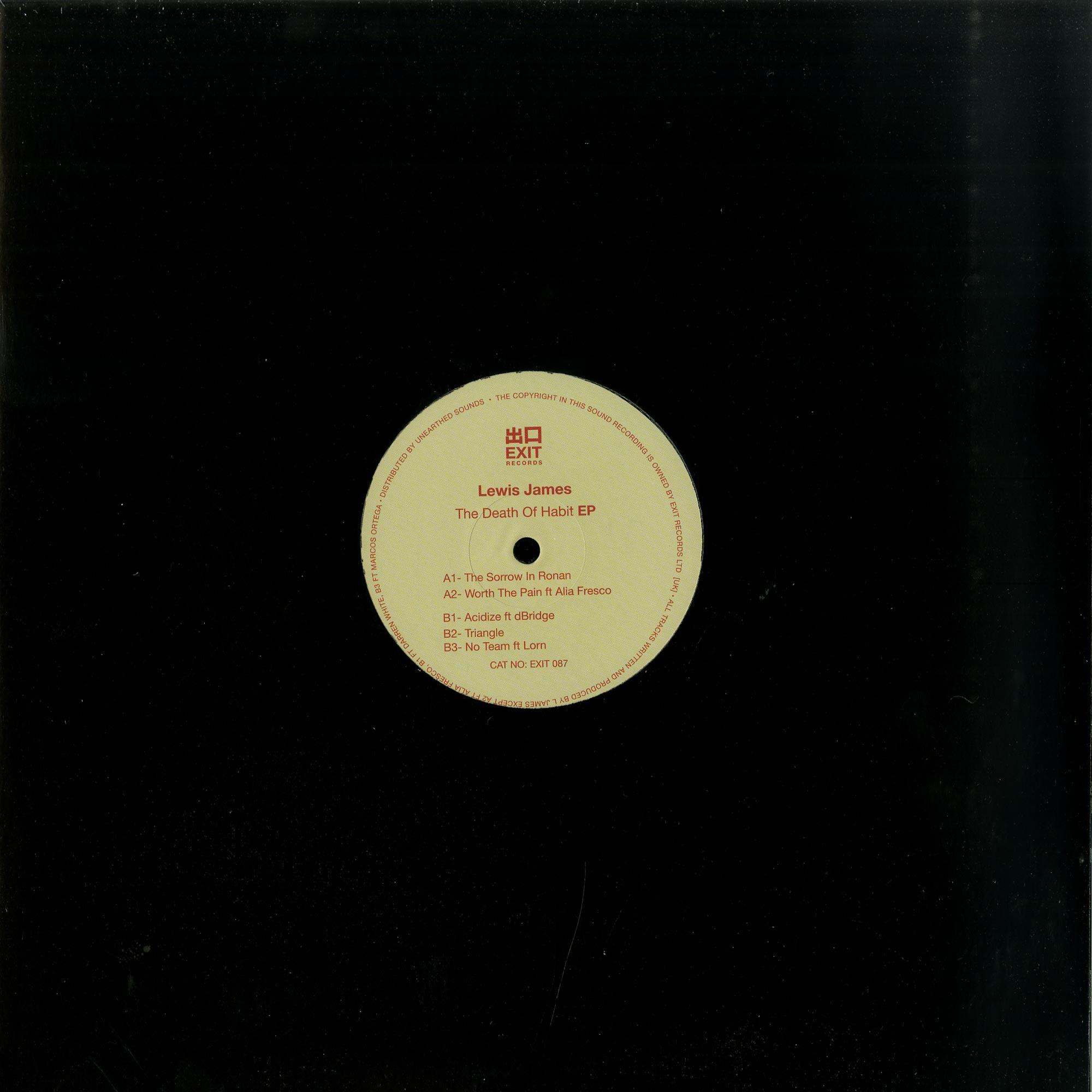 Lewis James - THE DEATH OF HABIT EP