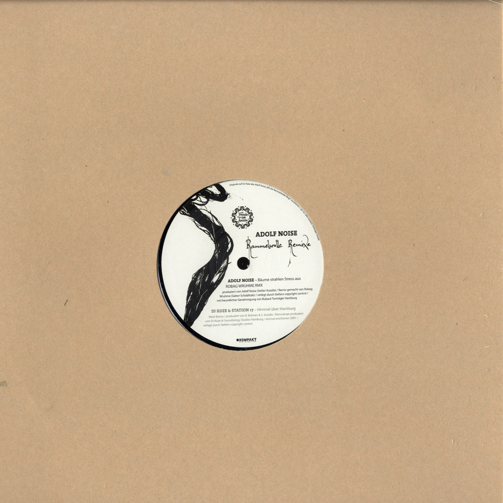 DJ Koze aka Adolf Noise - RAMMELWOLLE REMIXE