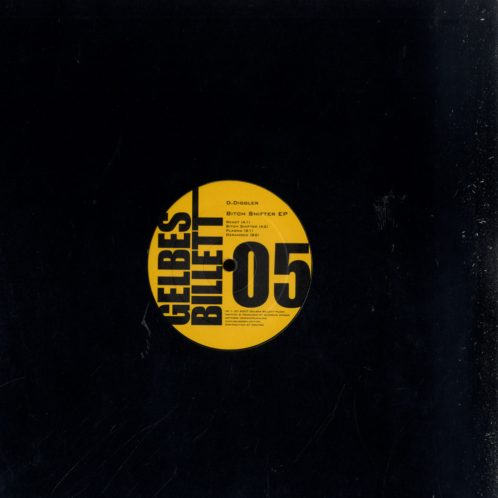 D.Diggler - BITCH SHIFTER EP