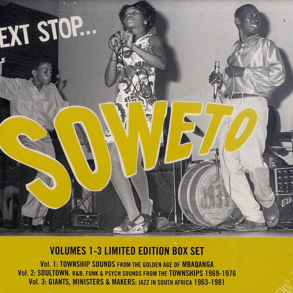 Various Artists - NEXT STOP SOWETO VOL 1 - 3 LTD BOX