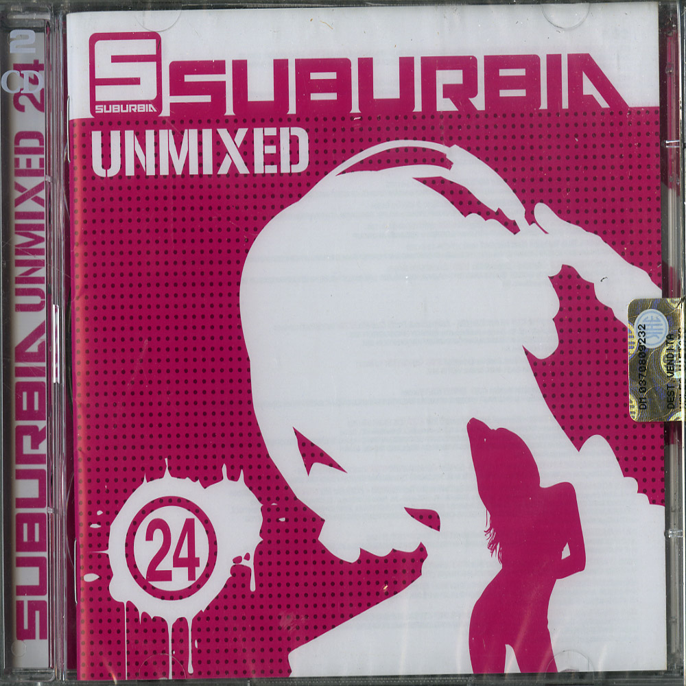Various Artists - SUBURBIA UNMIXED 24