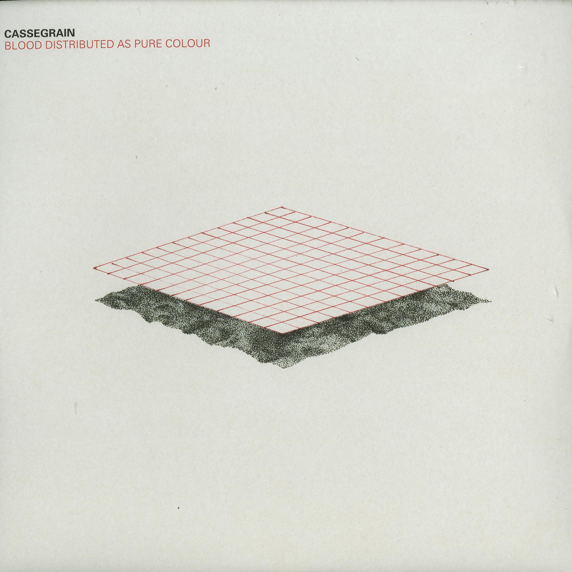 Cassegrain - BLOOD DISTRIBUTED AS PURE COLOUR
