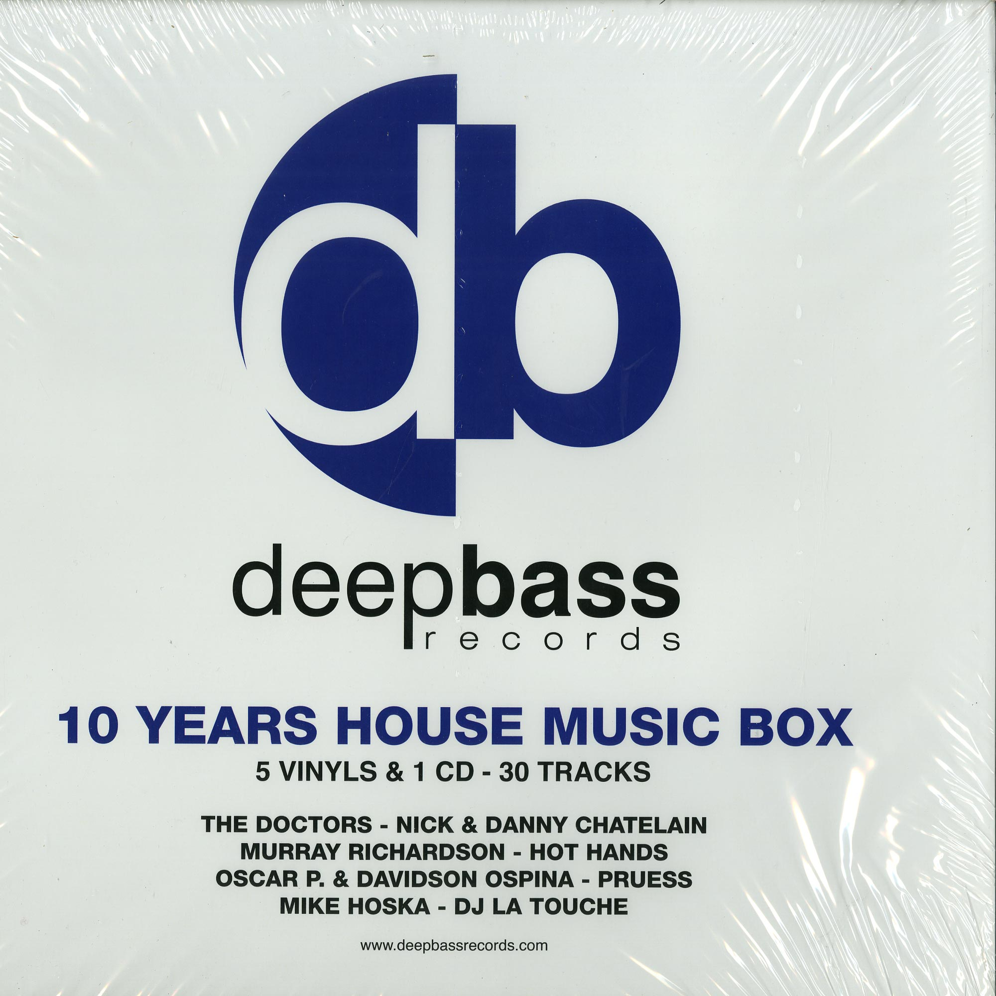 Various Artists - 10 YEARS HOUSE MUSIC BOX