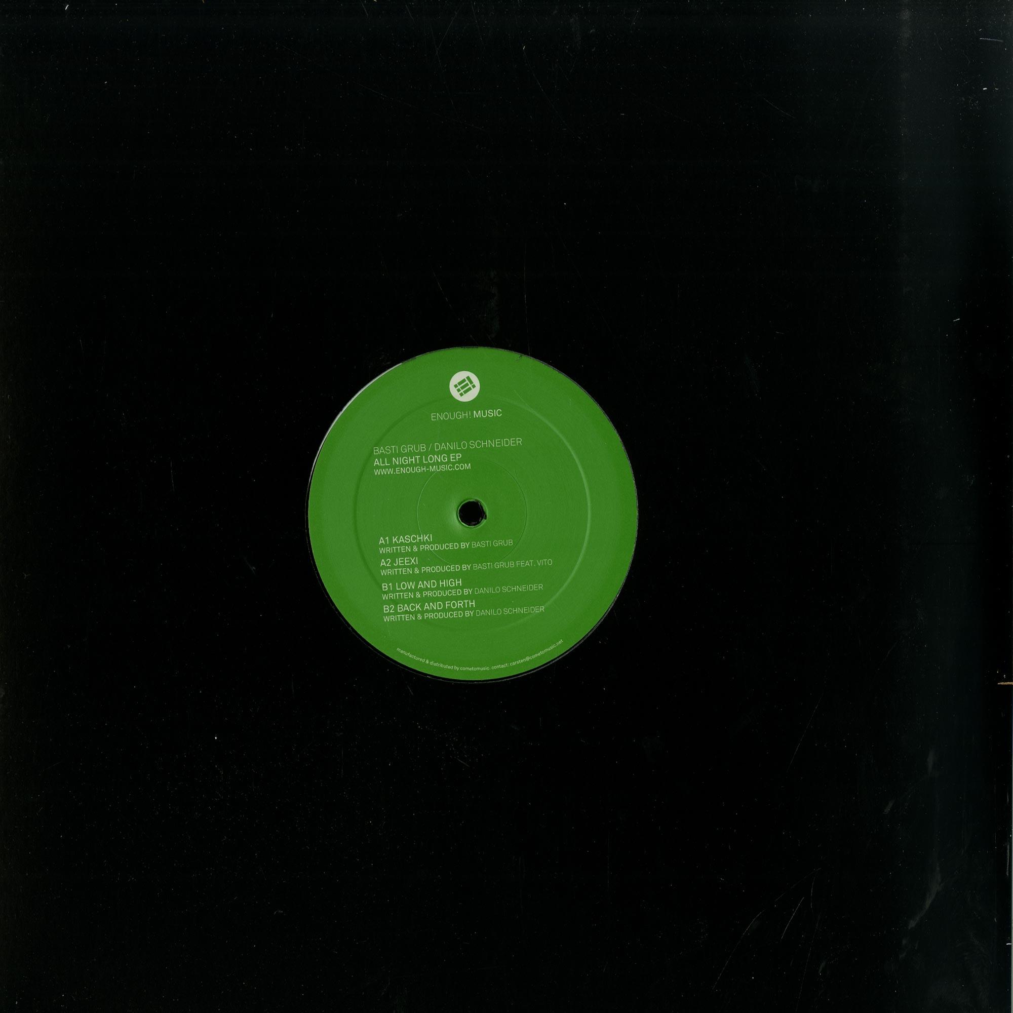 Basti Grub / Danilo Schneider - ALL NIGHT LONG EP