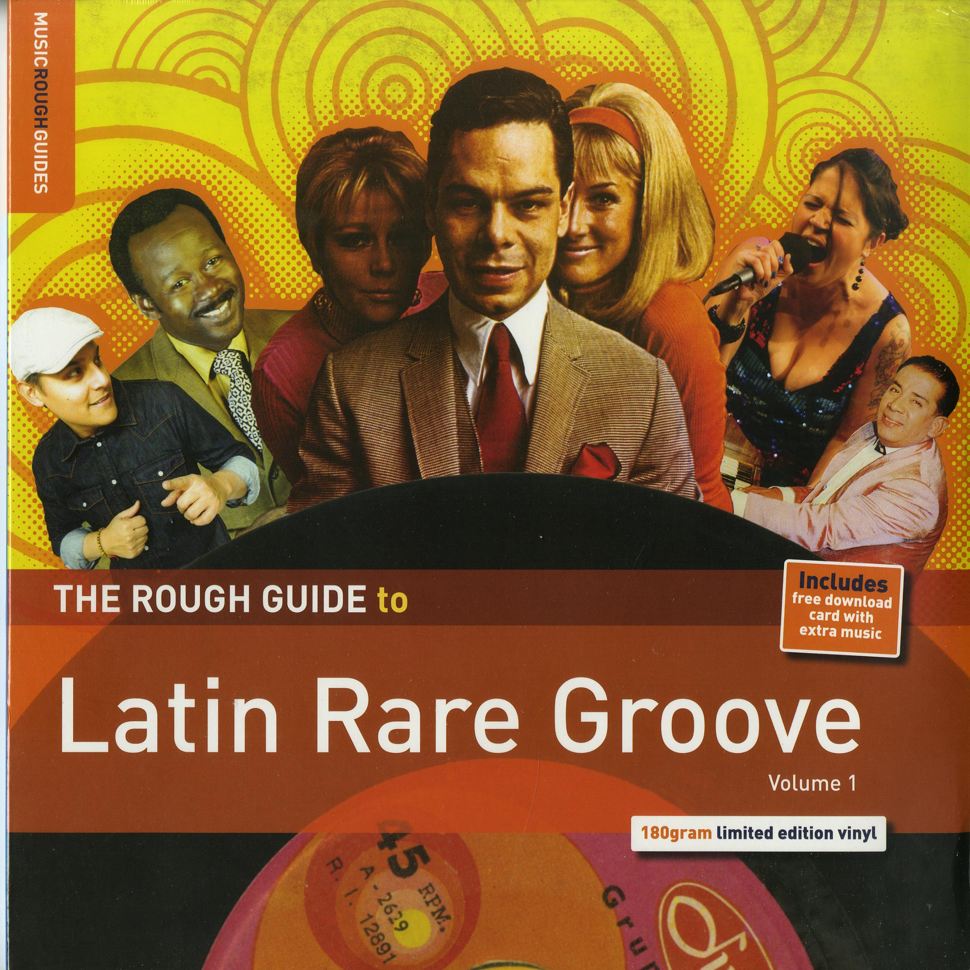 Various Artists - THE ROUGH GUIDE TO LATIN RARE GROOVE VOL. 1