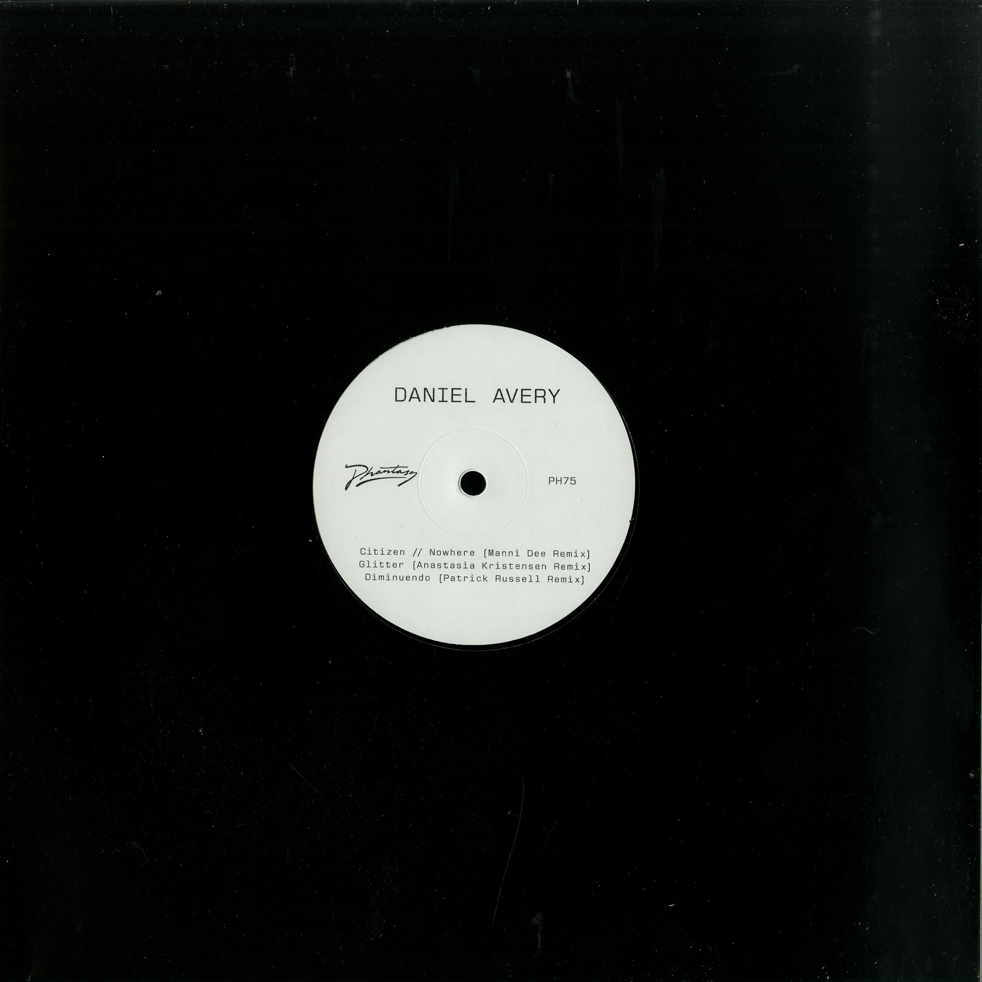 Daniel Avery - SONG FOR ALPHA REMIXES