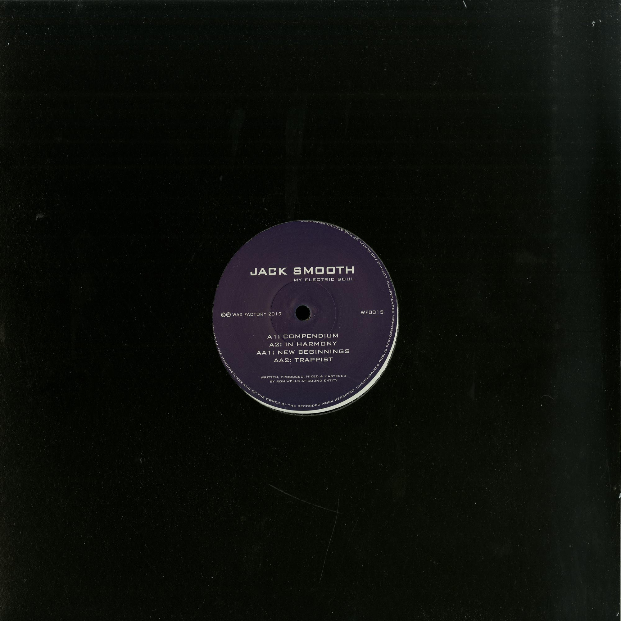 Jack Smooth - MY ELECTRIC SOUL
