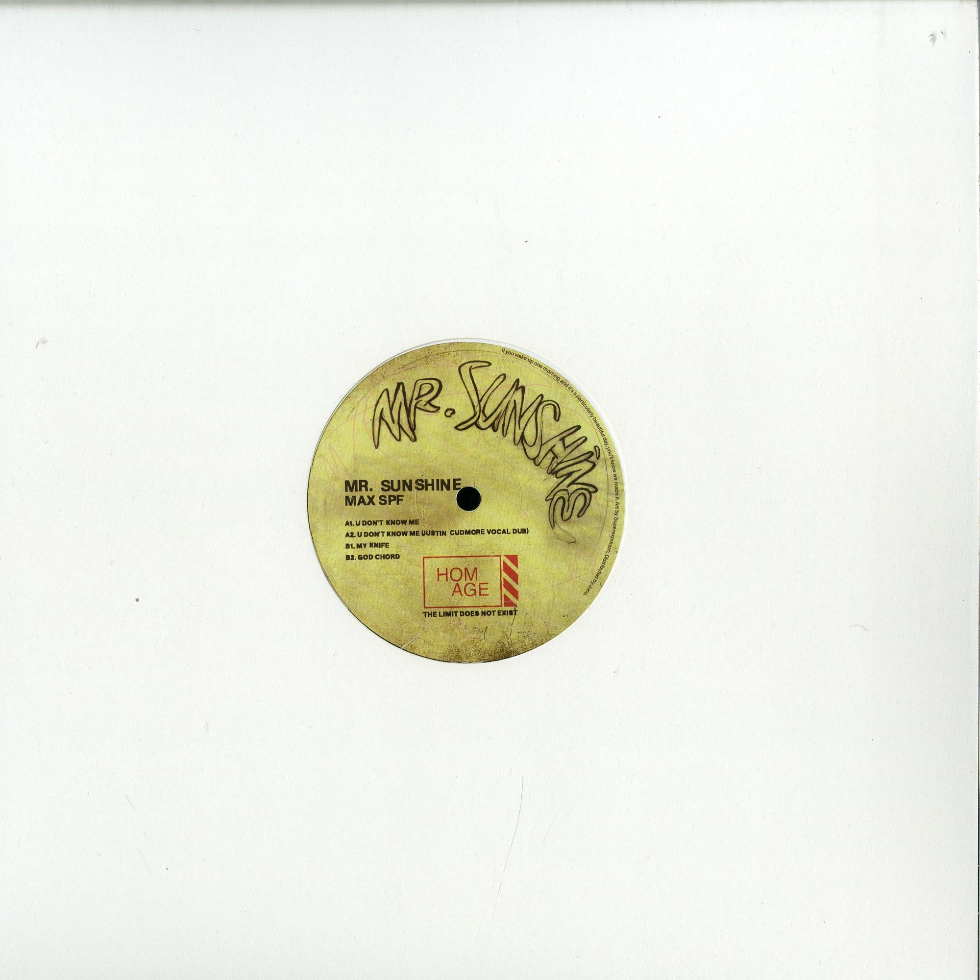 Mr Sunshine - MAX SPF EP