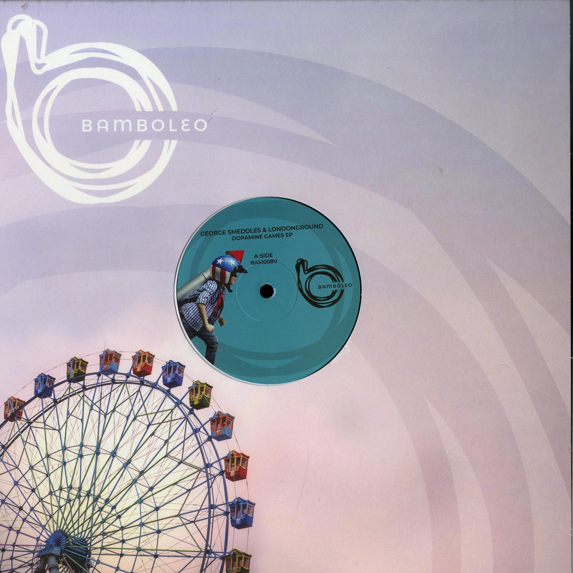 George Smeddles, LondonGround - DOPAMINE GAMES EP